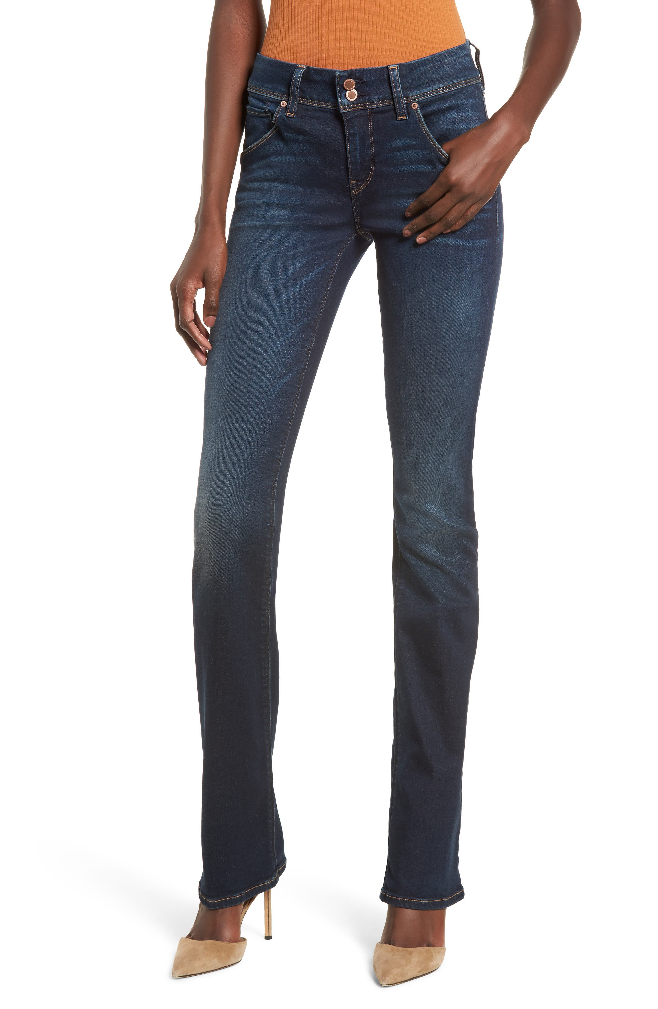 Beth Baby Bootcut Jeans, Main, color, FULLERTON