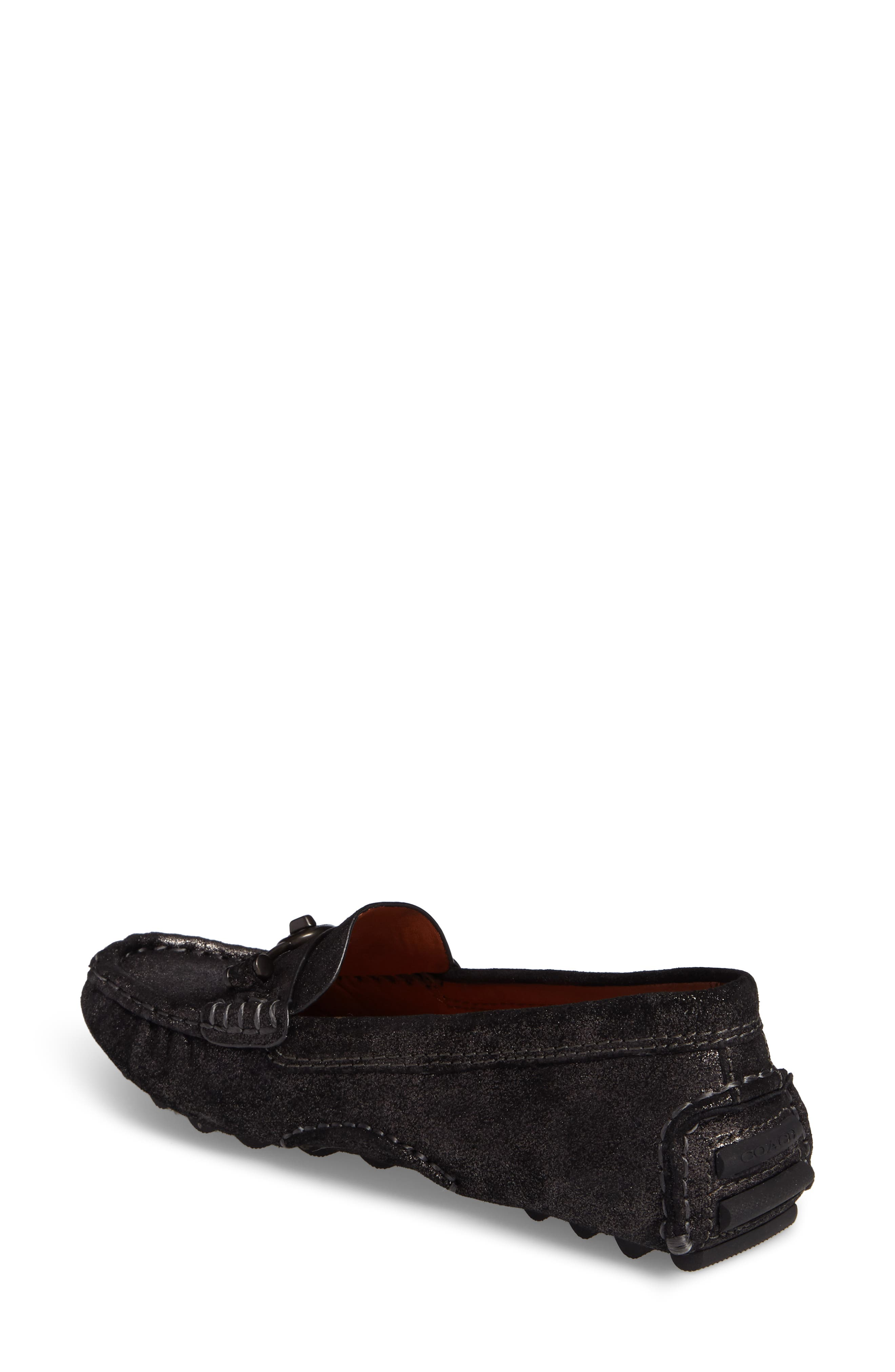 Crosby Driving Loafer,                             Alternate thumbnail 2, color,                             ANTHRACITE SUEDE