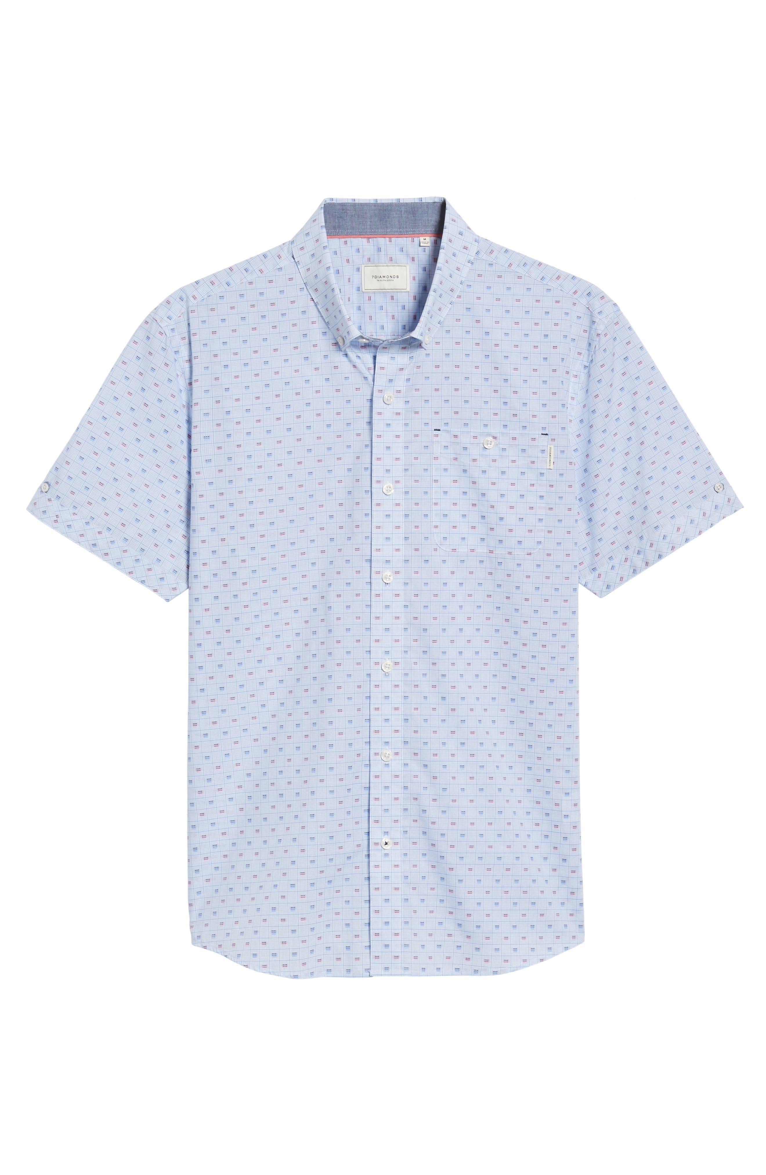 Atmosphere Woven Shirt,                             Alternate thumbnail 6, color,