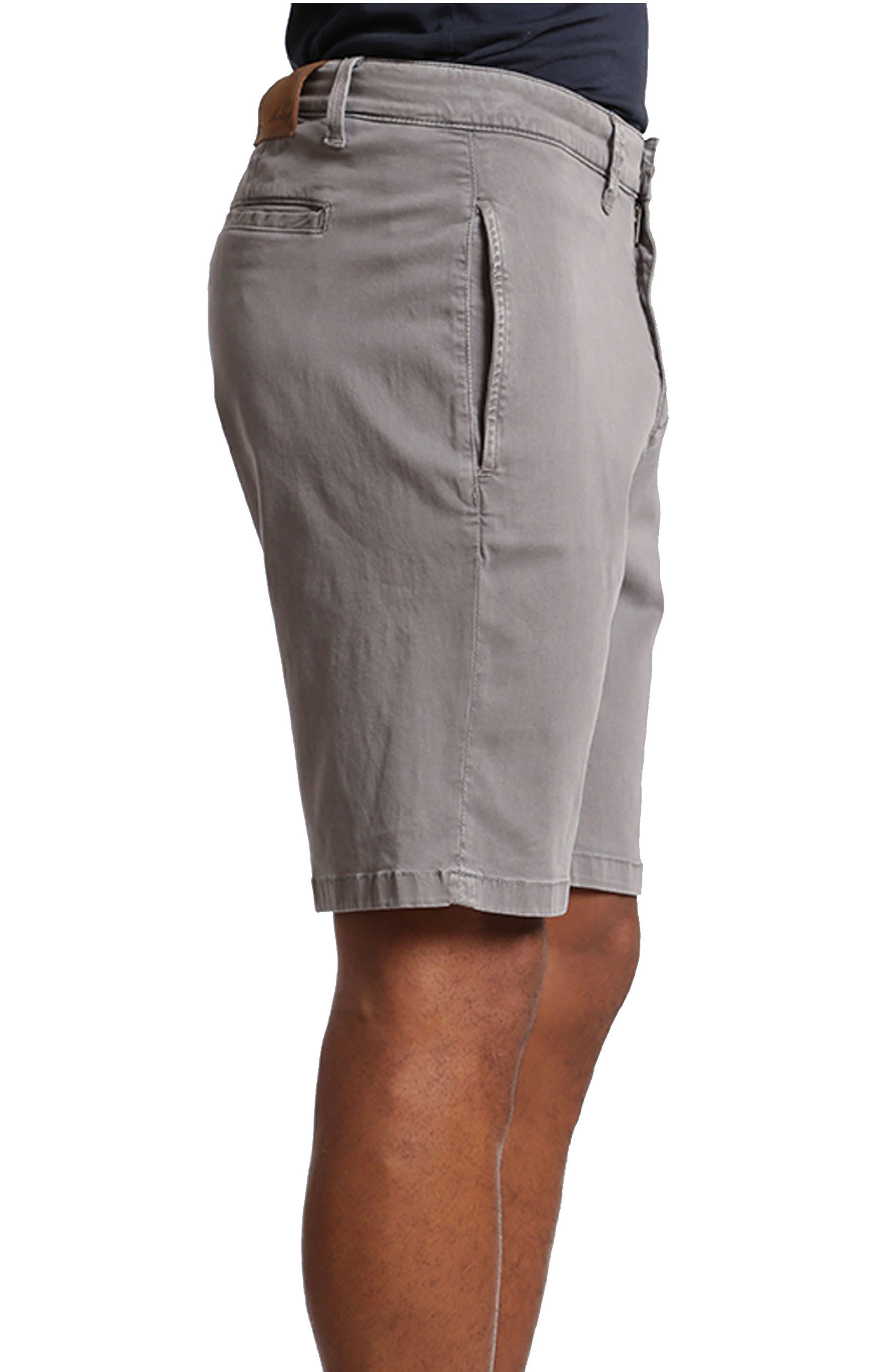 Nevada Twill Shorts,                             Alternate thumbnail 3, color,                             SHARK TWILL