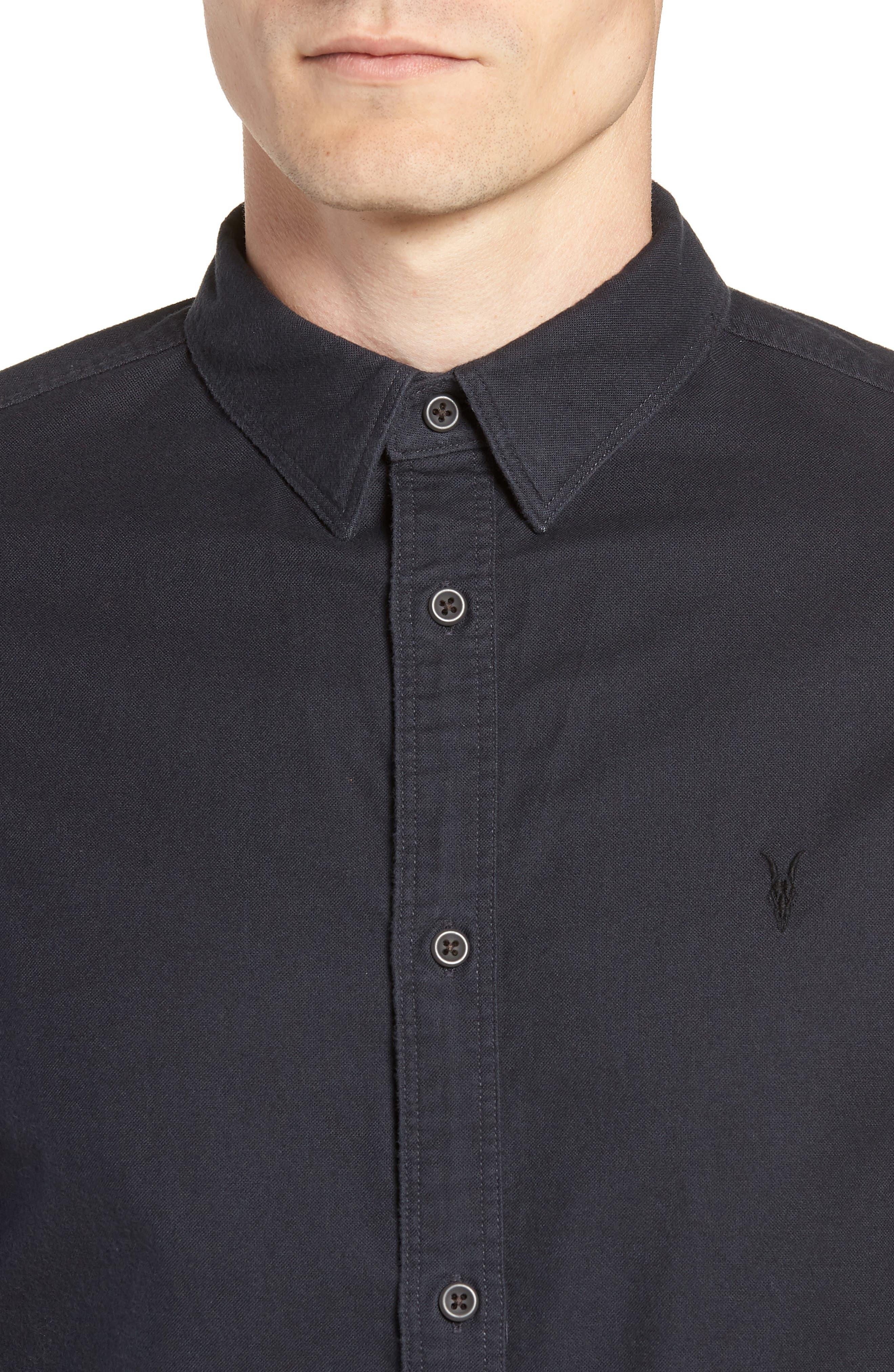 Huntington Regular Fit Short Sleeve Sport Shirt,                             Alternate thumbnail 9, color,