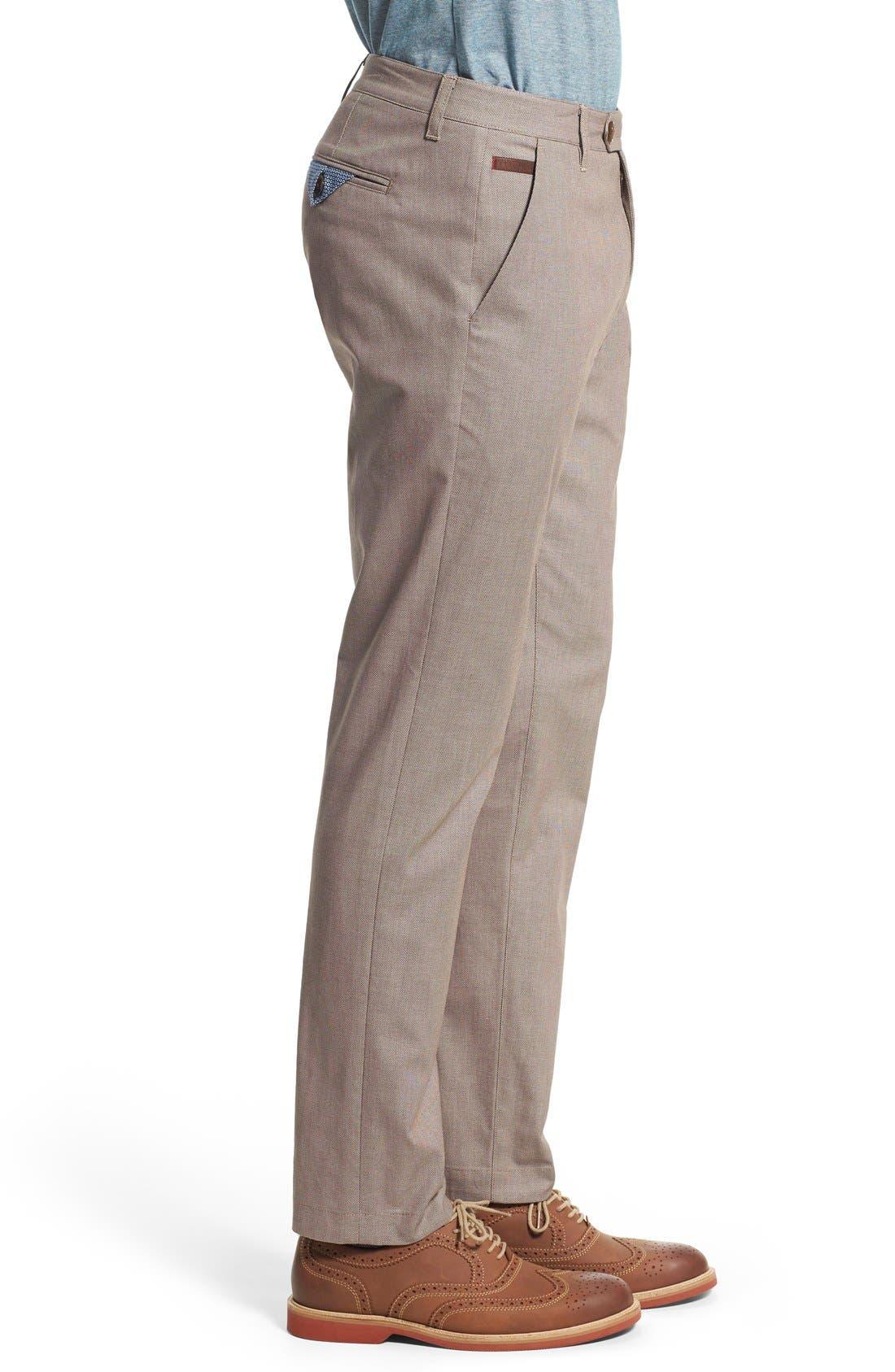 'Timmet' Classic Fit Pants,                             Alternate thumbnail 3, color,                             103