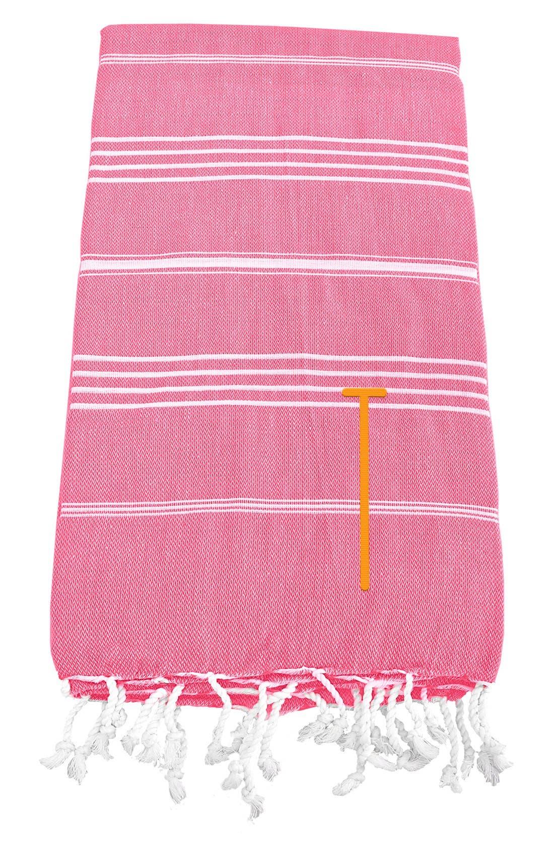 Monogram Turkish Cotton Towel,                             Main thumbnail 156, color,