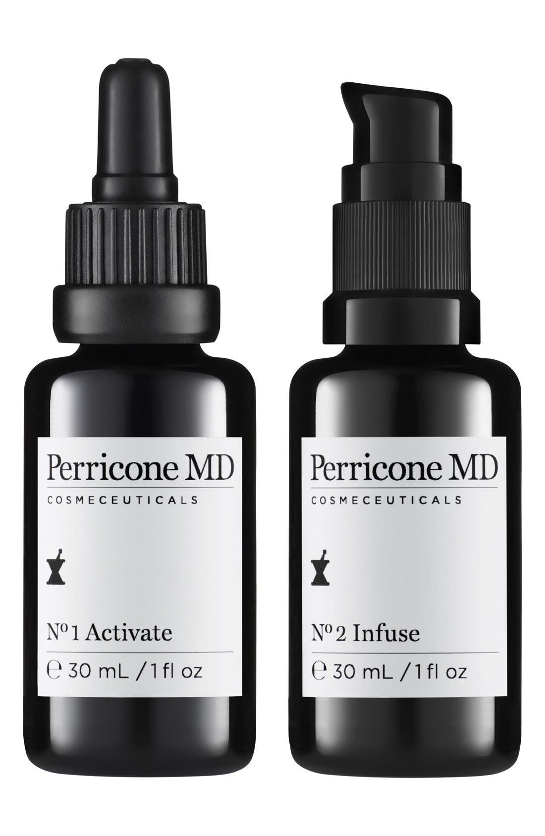 Perricone MD 'Science of Synergy' Activate & Infuse Duo,                         Main,                         color,