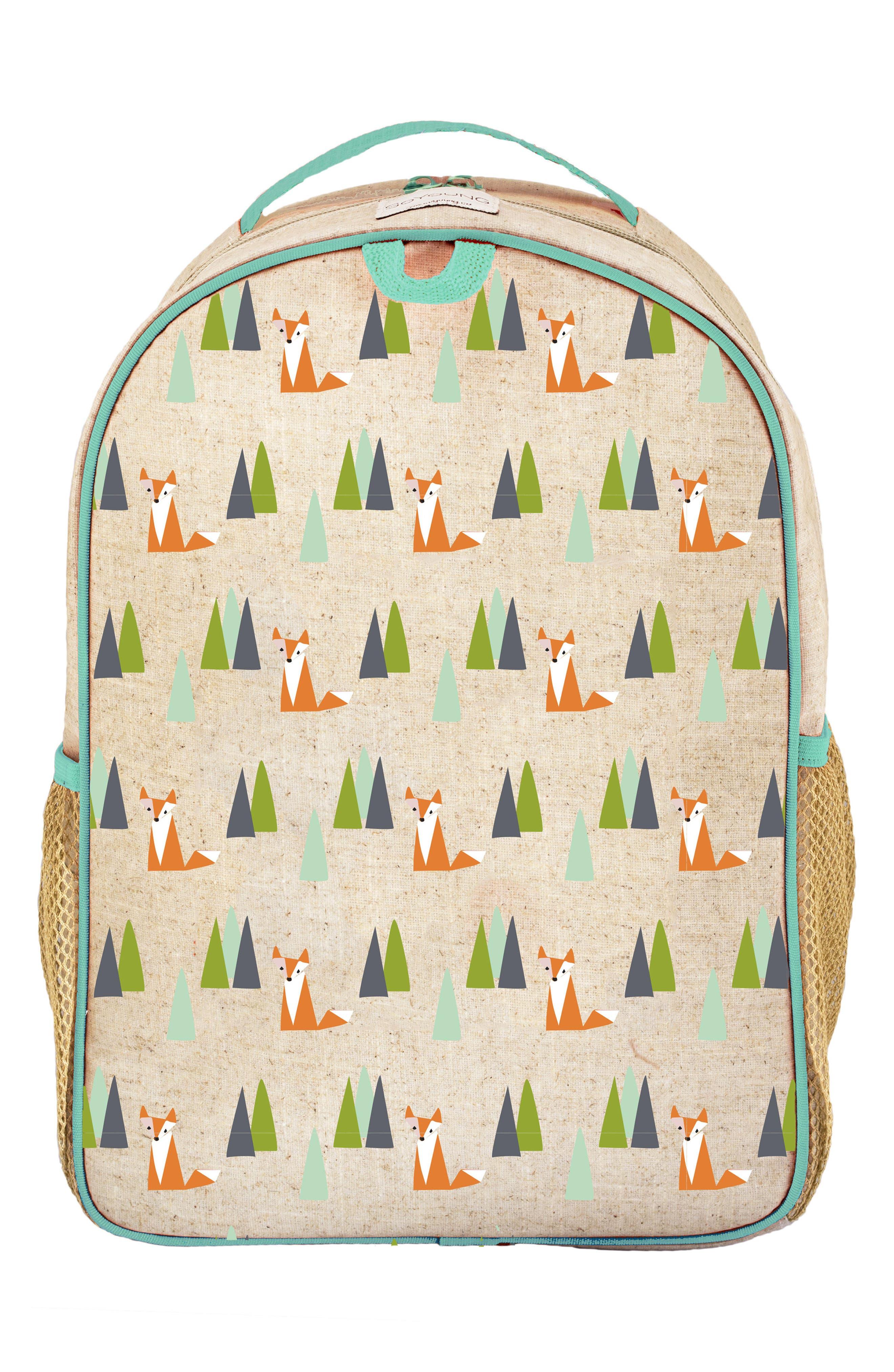 Raw Linen Toddler Backpack,                             Main thumbnail 2, color,