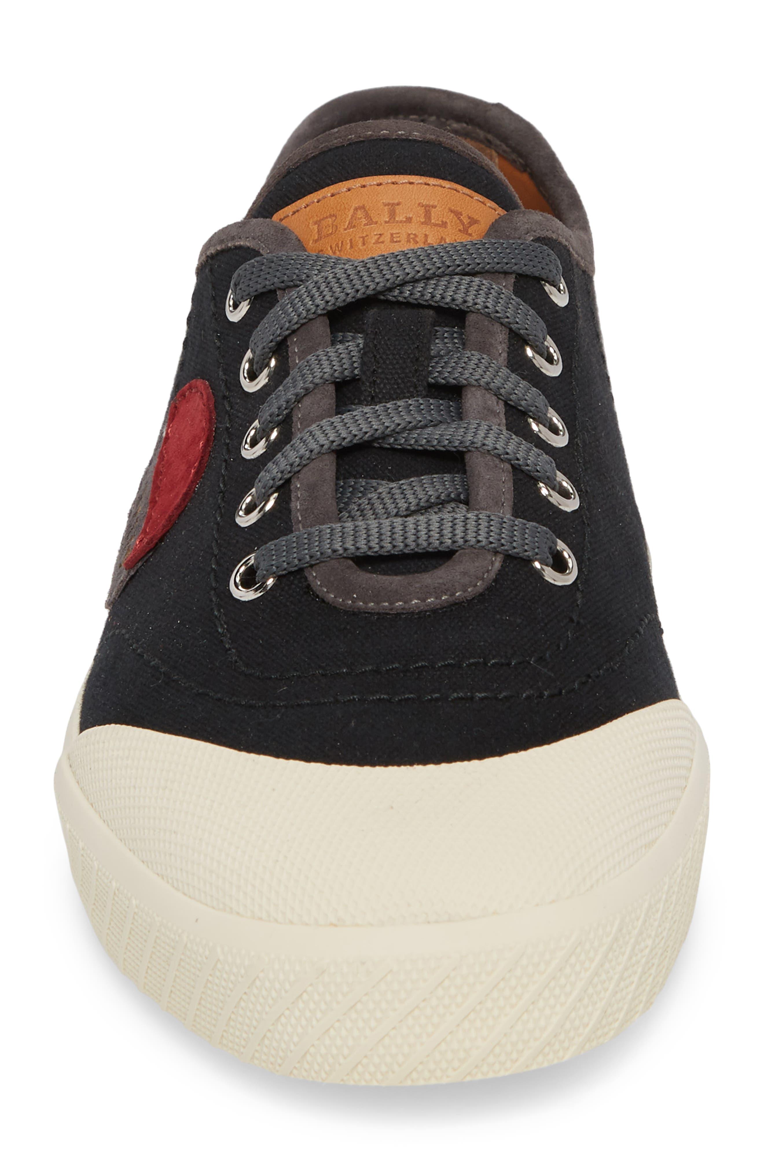 Silio Low Top Sneaker,                             Alternate thumbnail 4, color,                             001