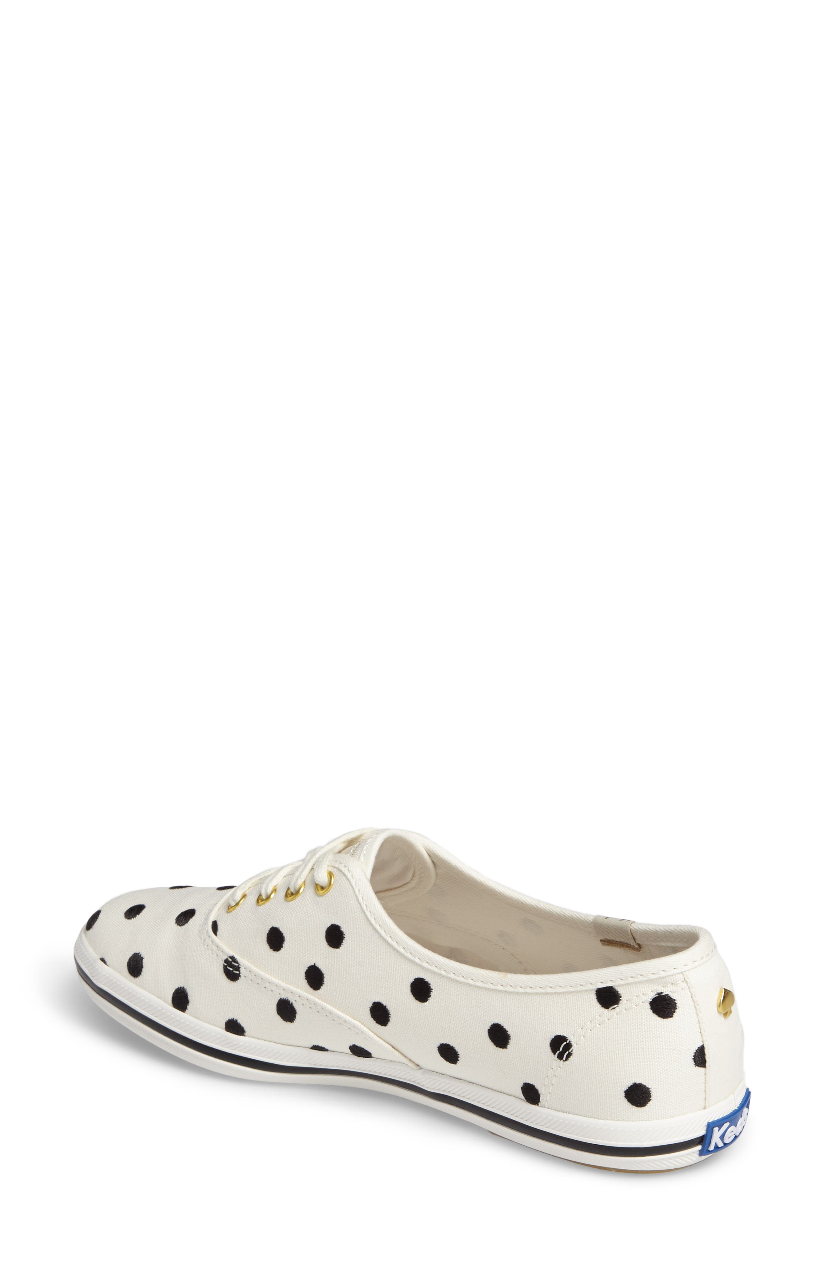 Keds<sup>®</sup> x kate spade new york champion sneaker,                             Alternate thumbnail 6, color,