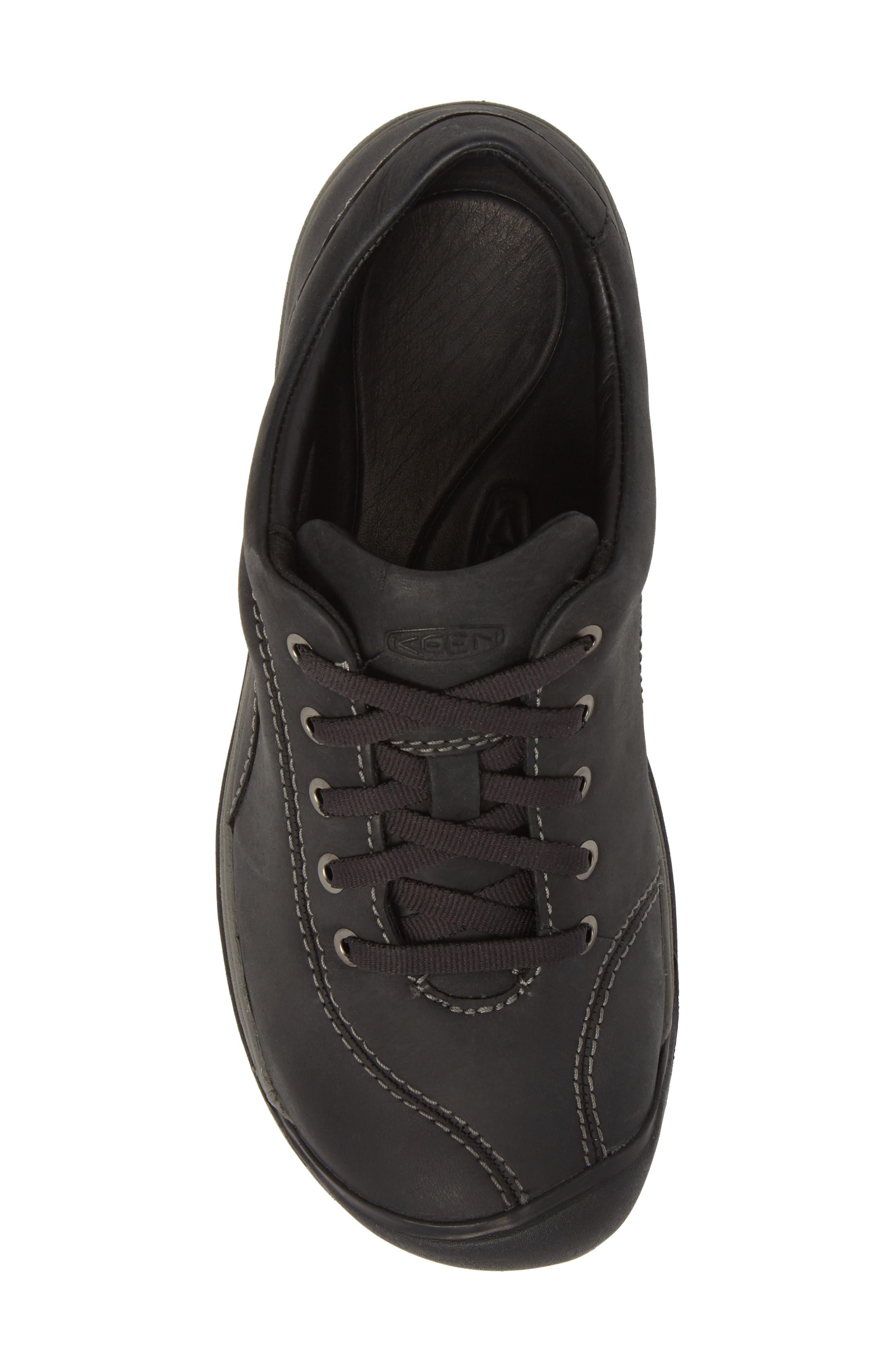 Presidio II Sneaker,                             Alternate thumbnail 5, color,                             BLACK/ STEEL GREY LEATHER