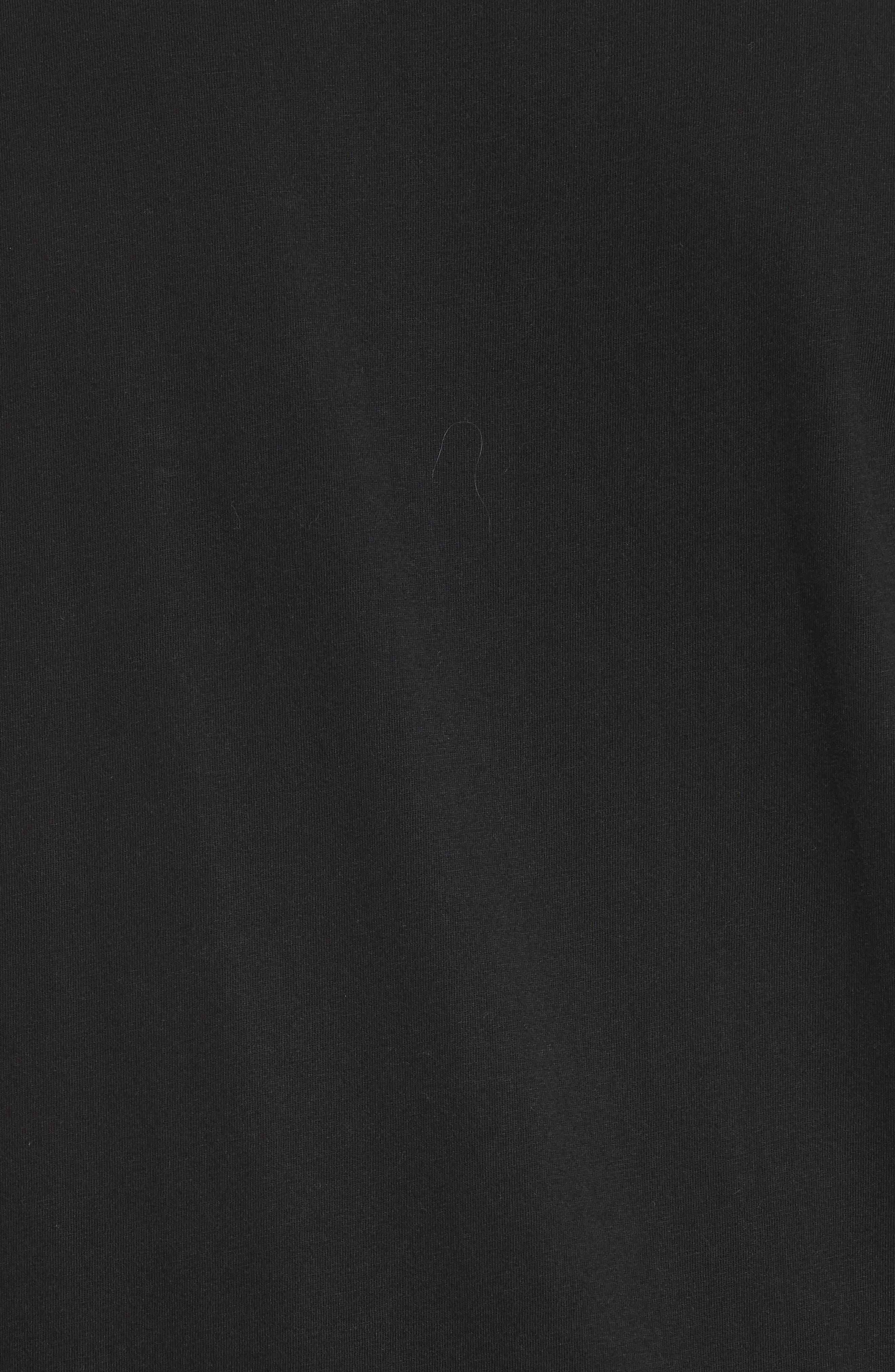 Zip Pocket T-Shirt,                             Alternate thumbnail 5, color,                             001