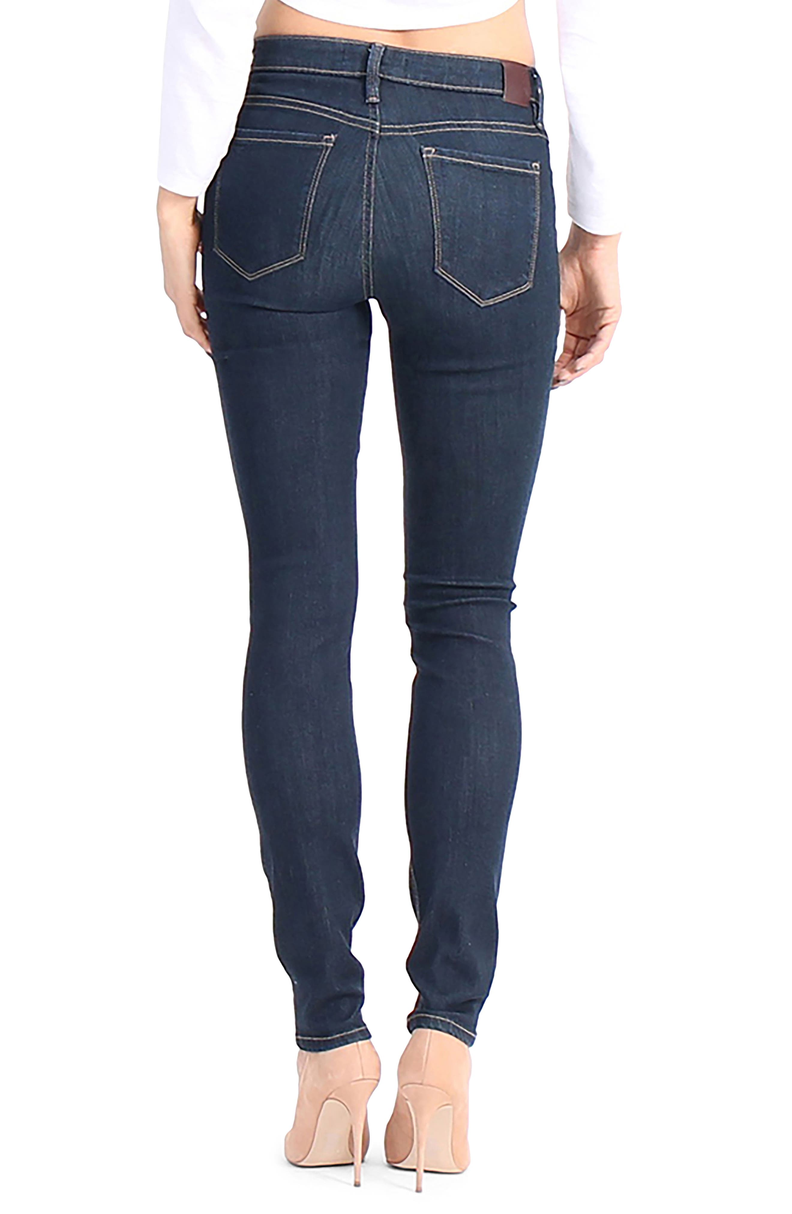 Liza Skinny Jeans,                             Alternate thumbnail 2, color,                             491
