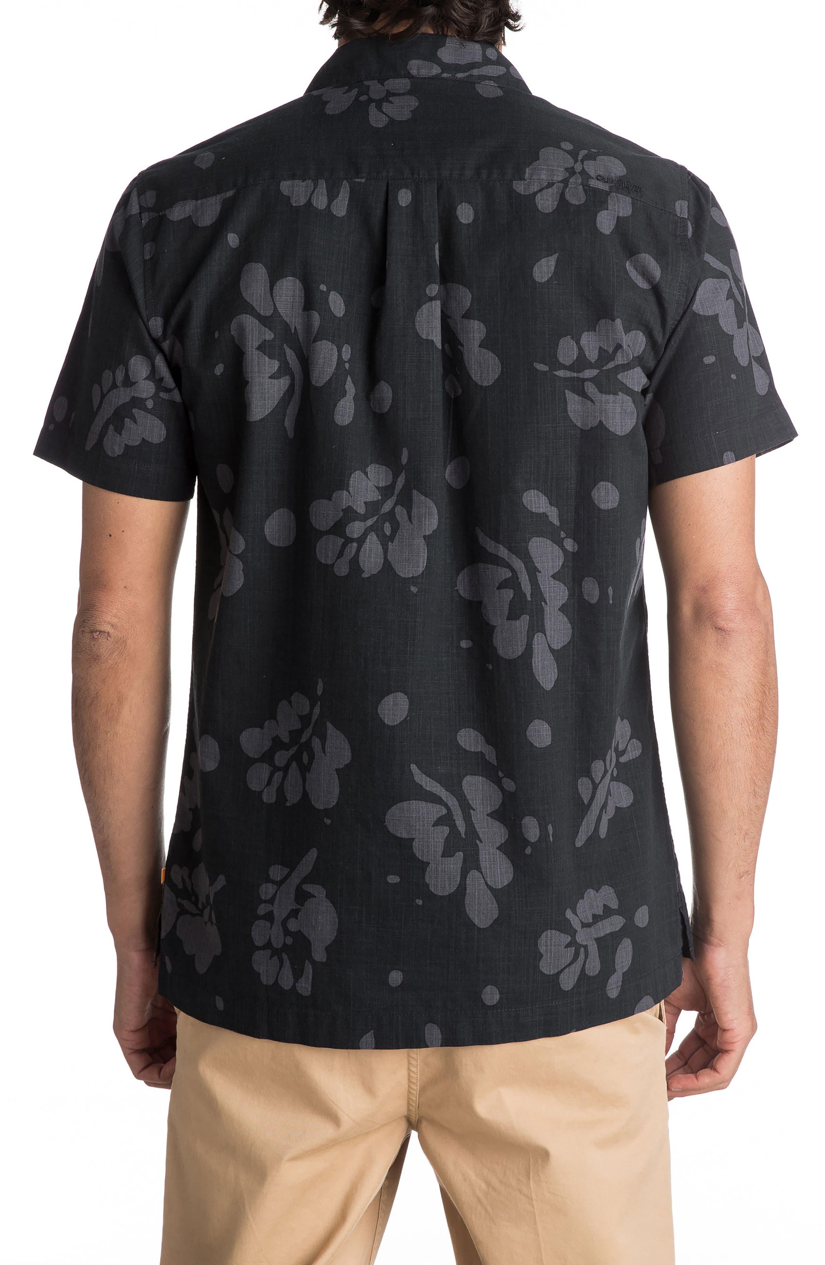 Los Palmas Woven Shirt,                             Alternate thumbnail 3, color,