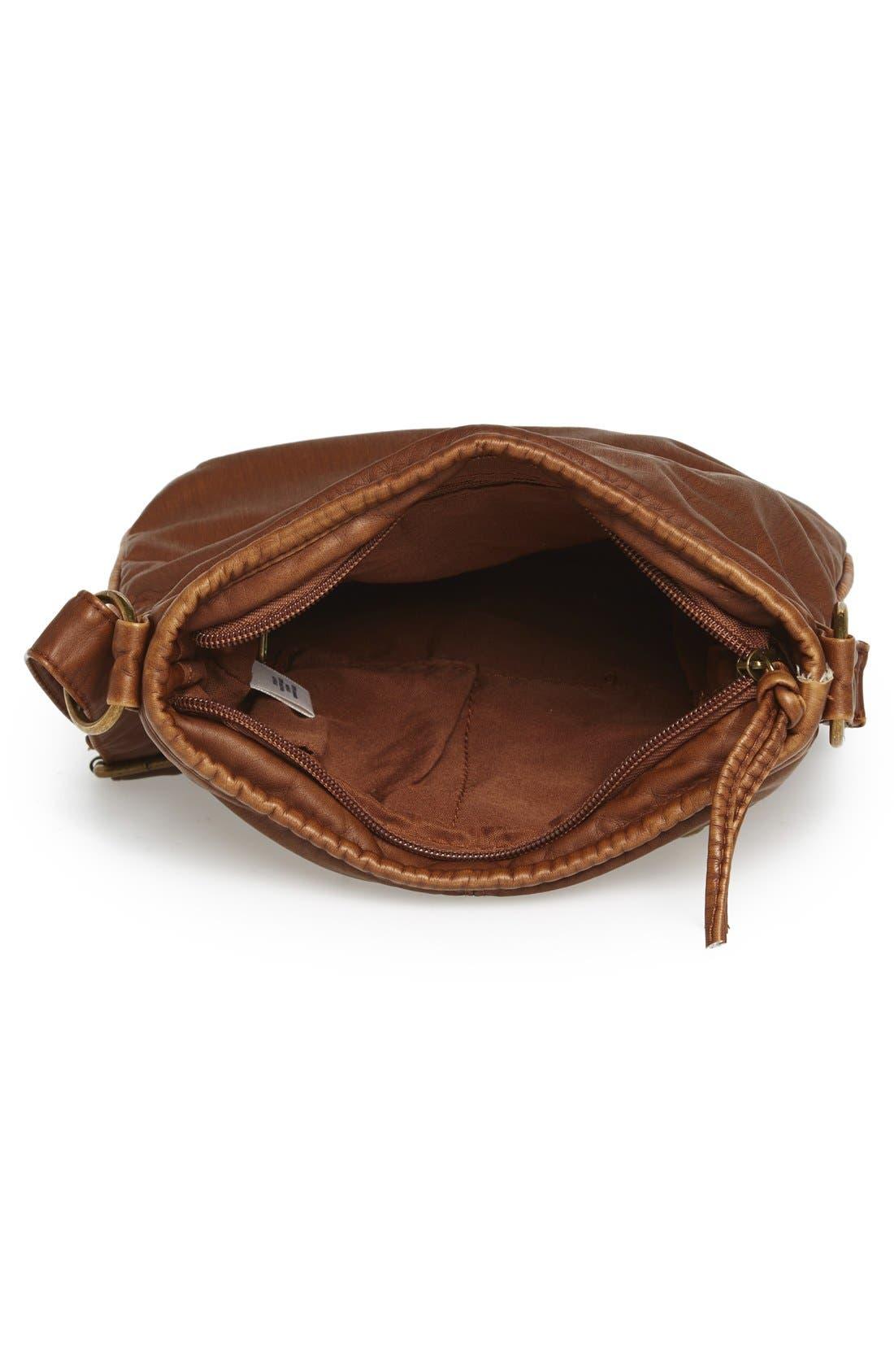 Washed Mini Crossbody Bag,                             Alternate thumbnail 4, color,                             200