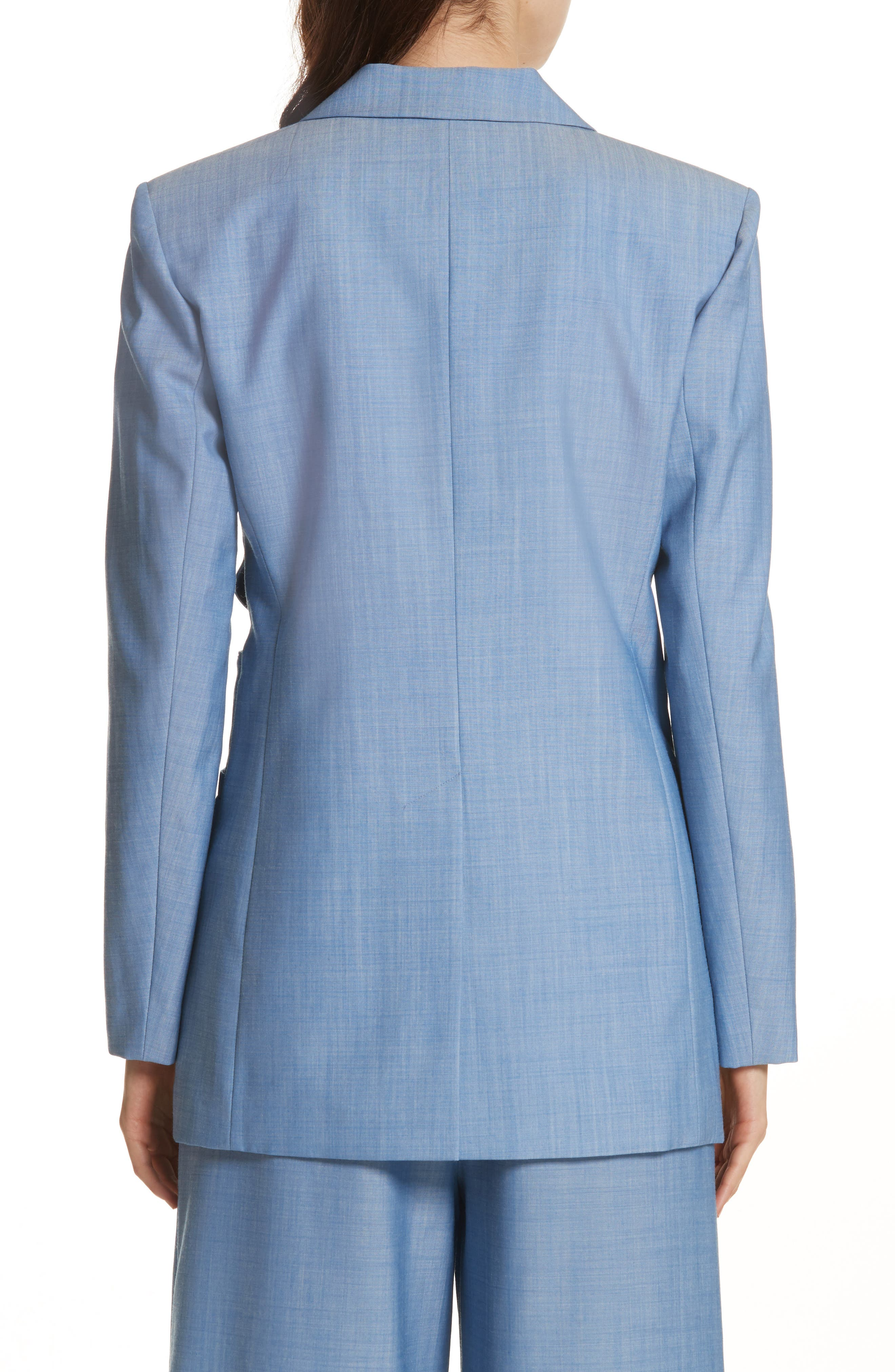 Side Cutout Wool Jacket,                             Alternate thumbnail 2, color,                             450