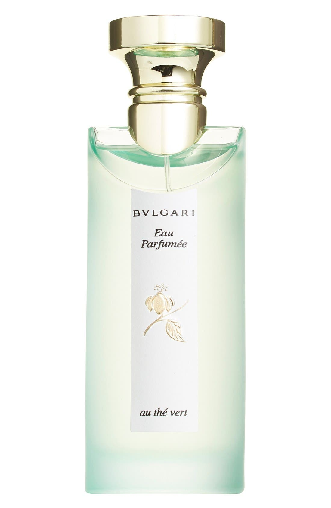 BVLGARI 'Eau Parfumée au thé vert' Eau de Cologne Spray, Main, color, NO COLOR