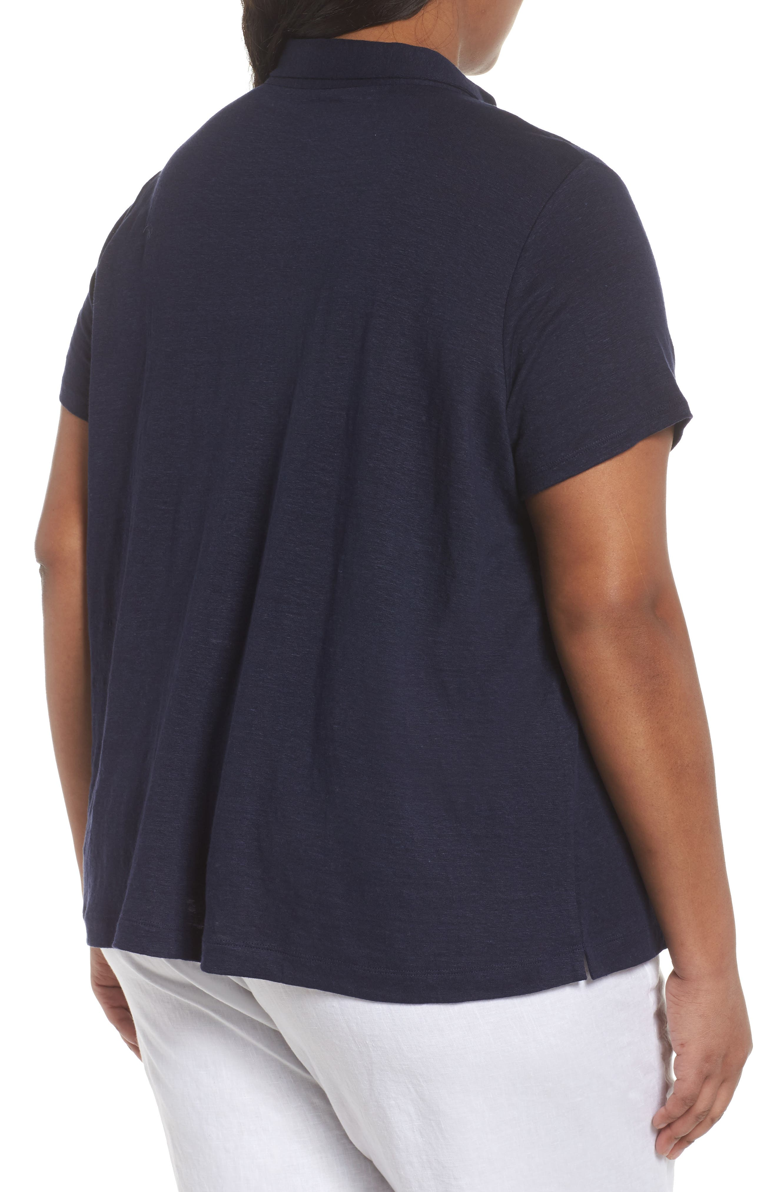 Organic Linen Top,                             Alternate thumbnail 7, color,