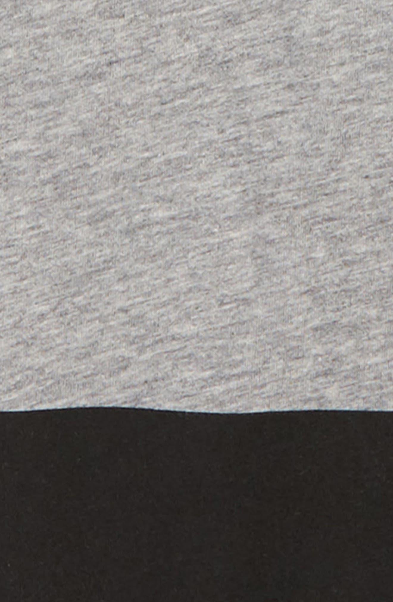Stripe Layered T-Shirt,                             Alternate thumbnail 2, color,                             HEATHER GREY