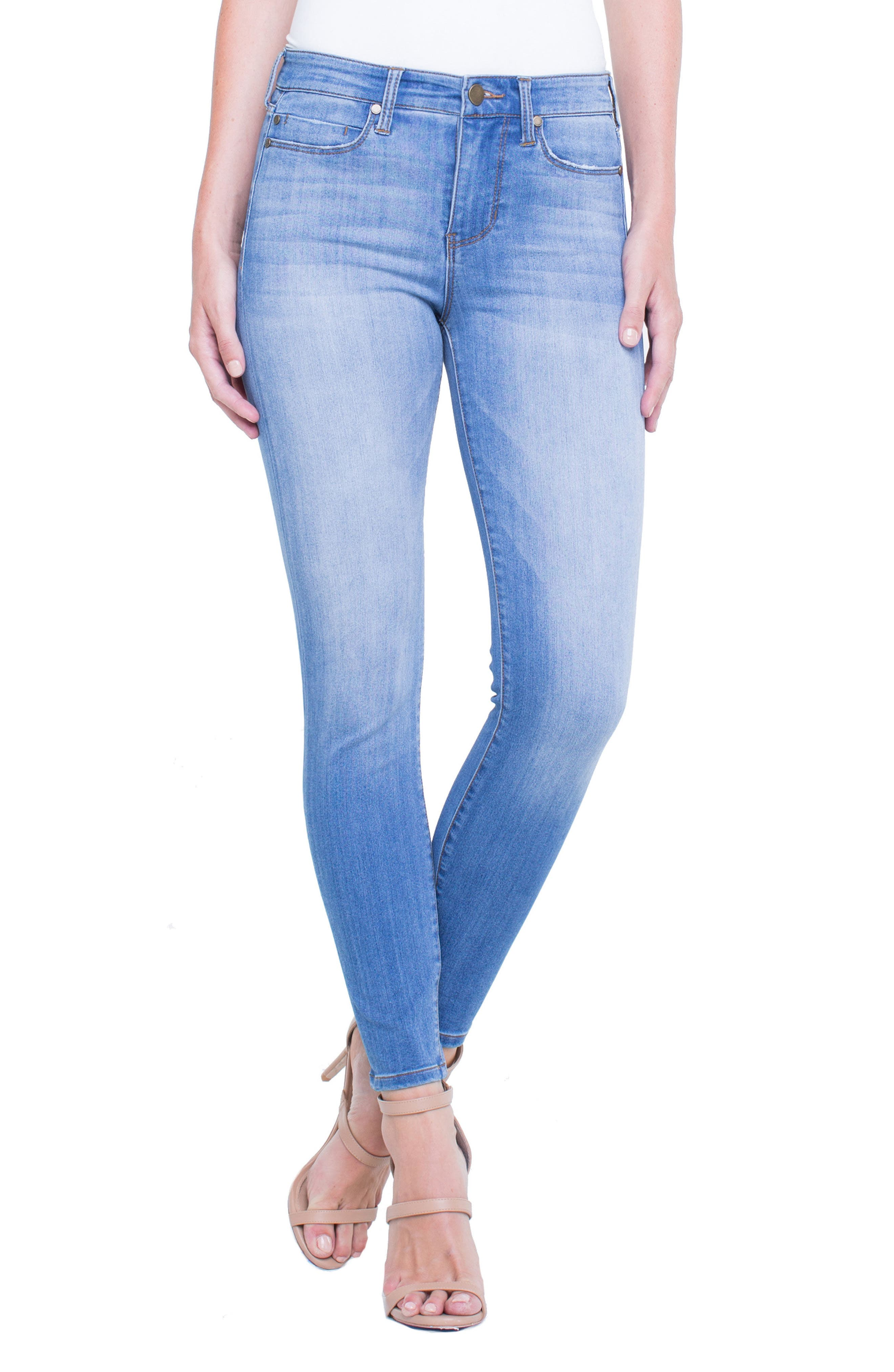Penny Ankle Skinny Jeans,                             Main thumbnail 4, color,