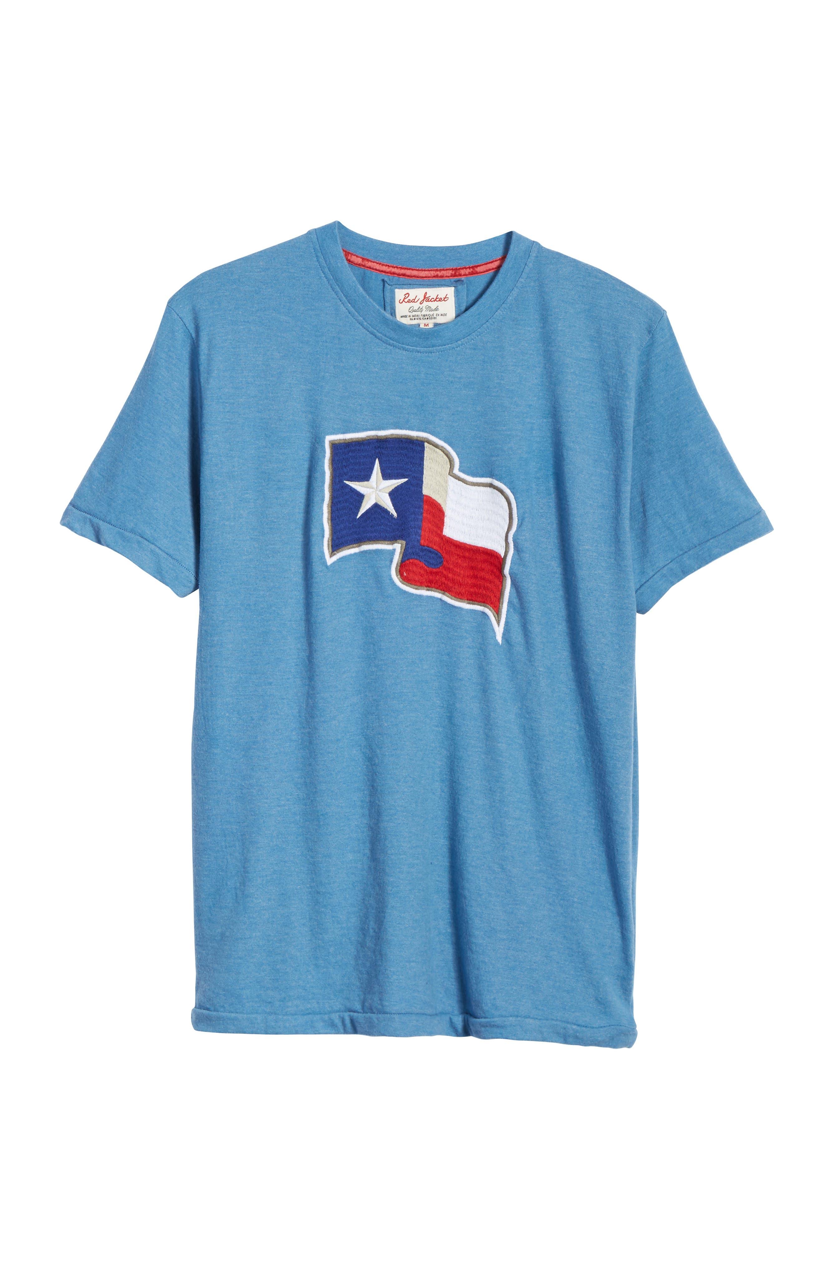 Hillwood Texas Rangers T-Shirt,                             Alternate thumbnail 6, color,                             450