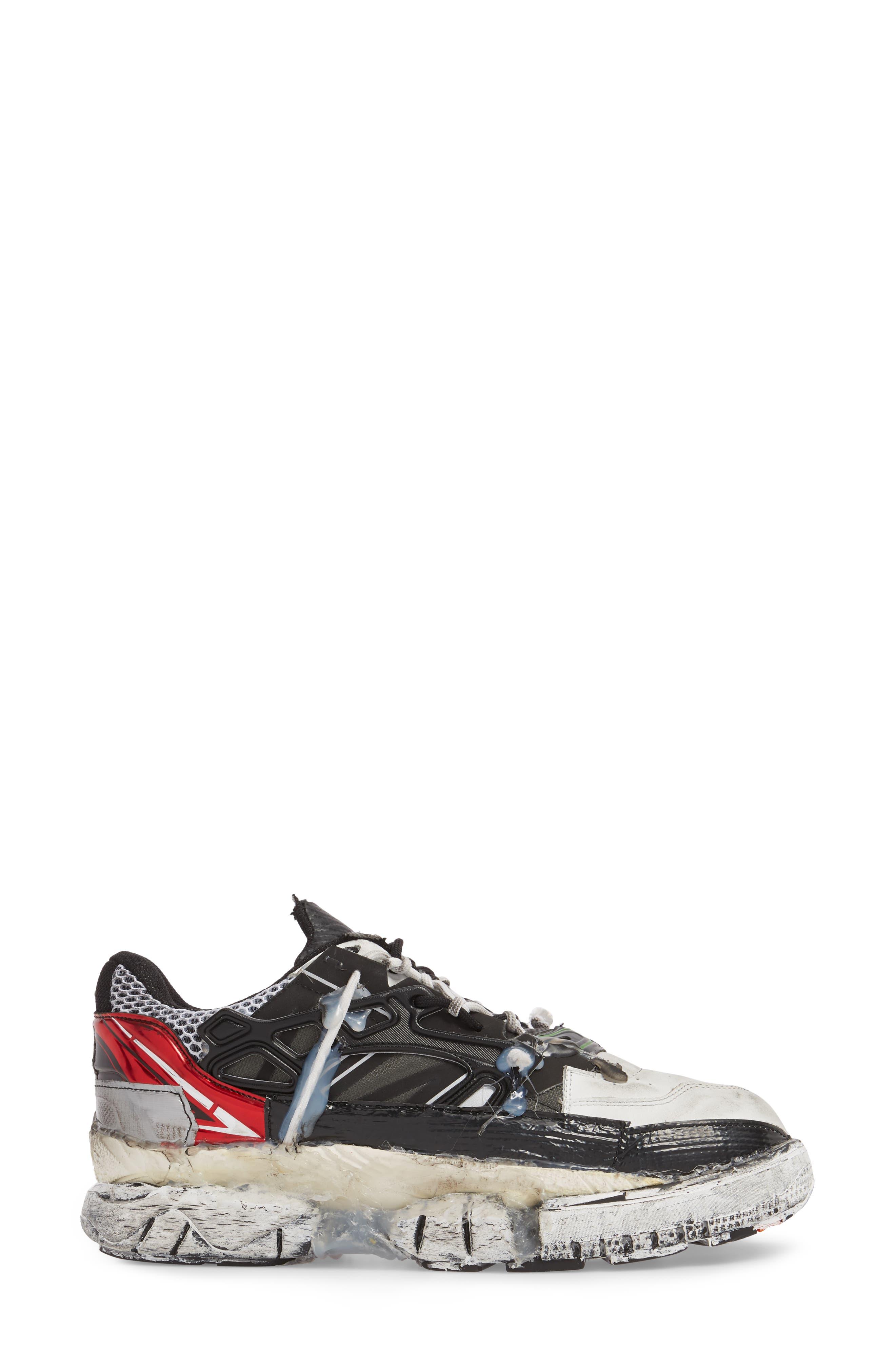 Maison Margiela Fusion Sneaker,                             Alternate thumbnail 3, color,                             UNIQUE VARIANT