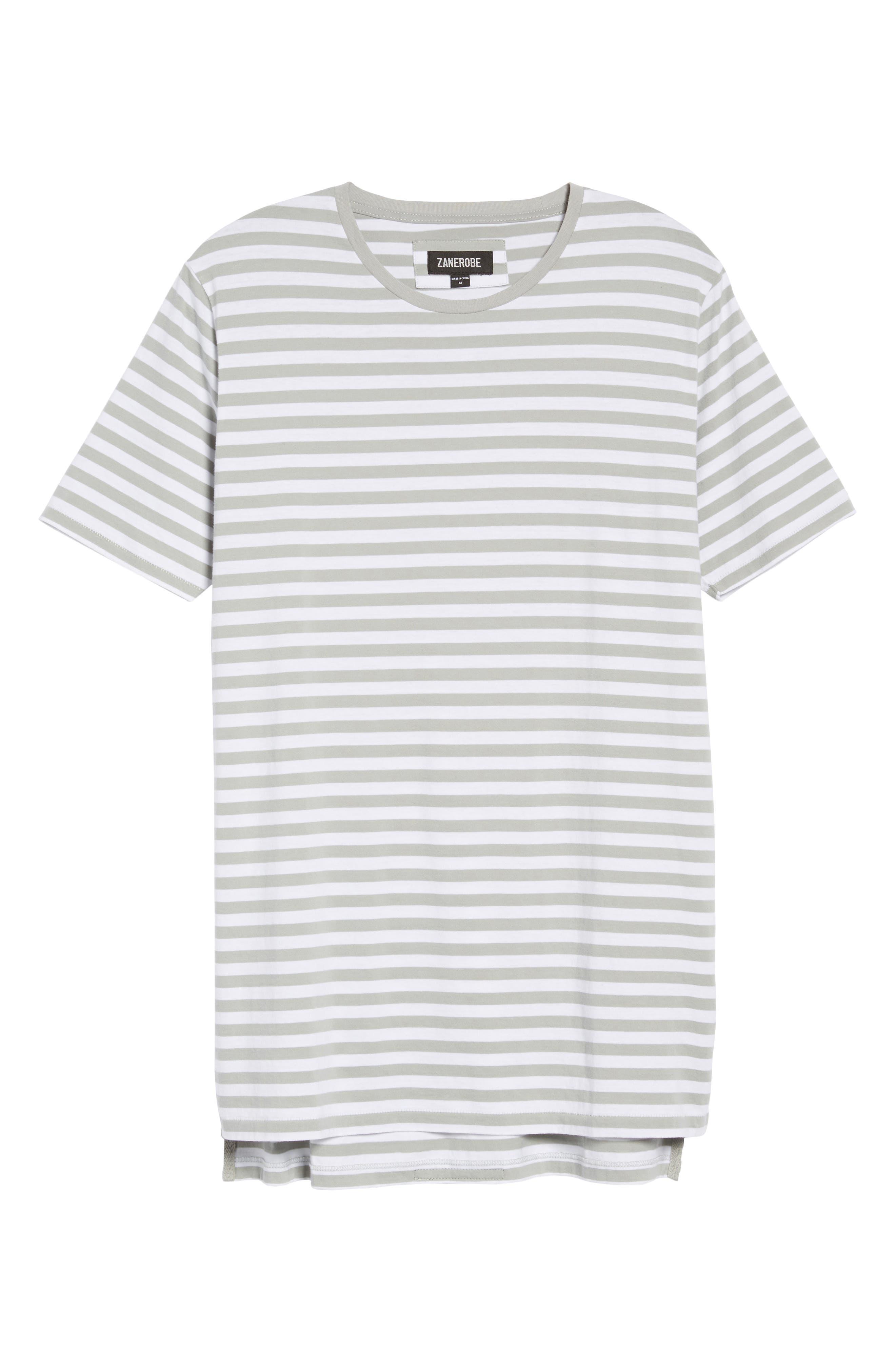 Flintlock Longline T-Shirt,                             Alternate thumbnail 4, color,                             340