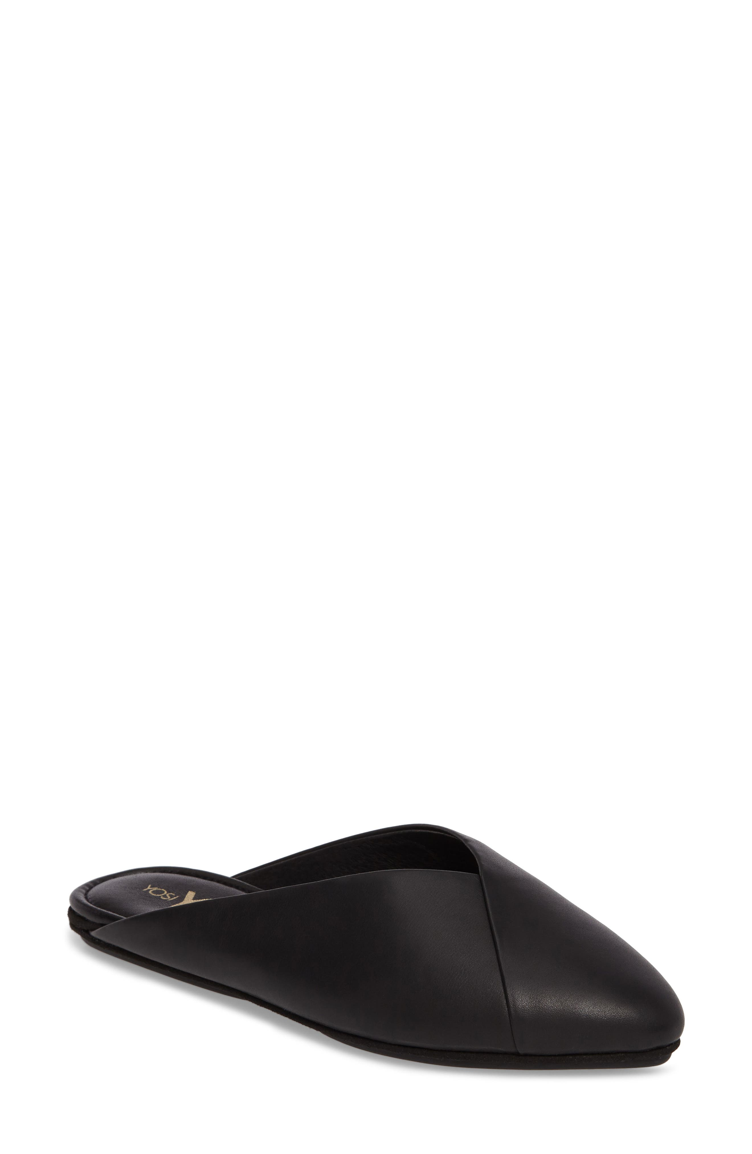 Valentina Slide Mule,                             Main thumbnail 1, color,                             001