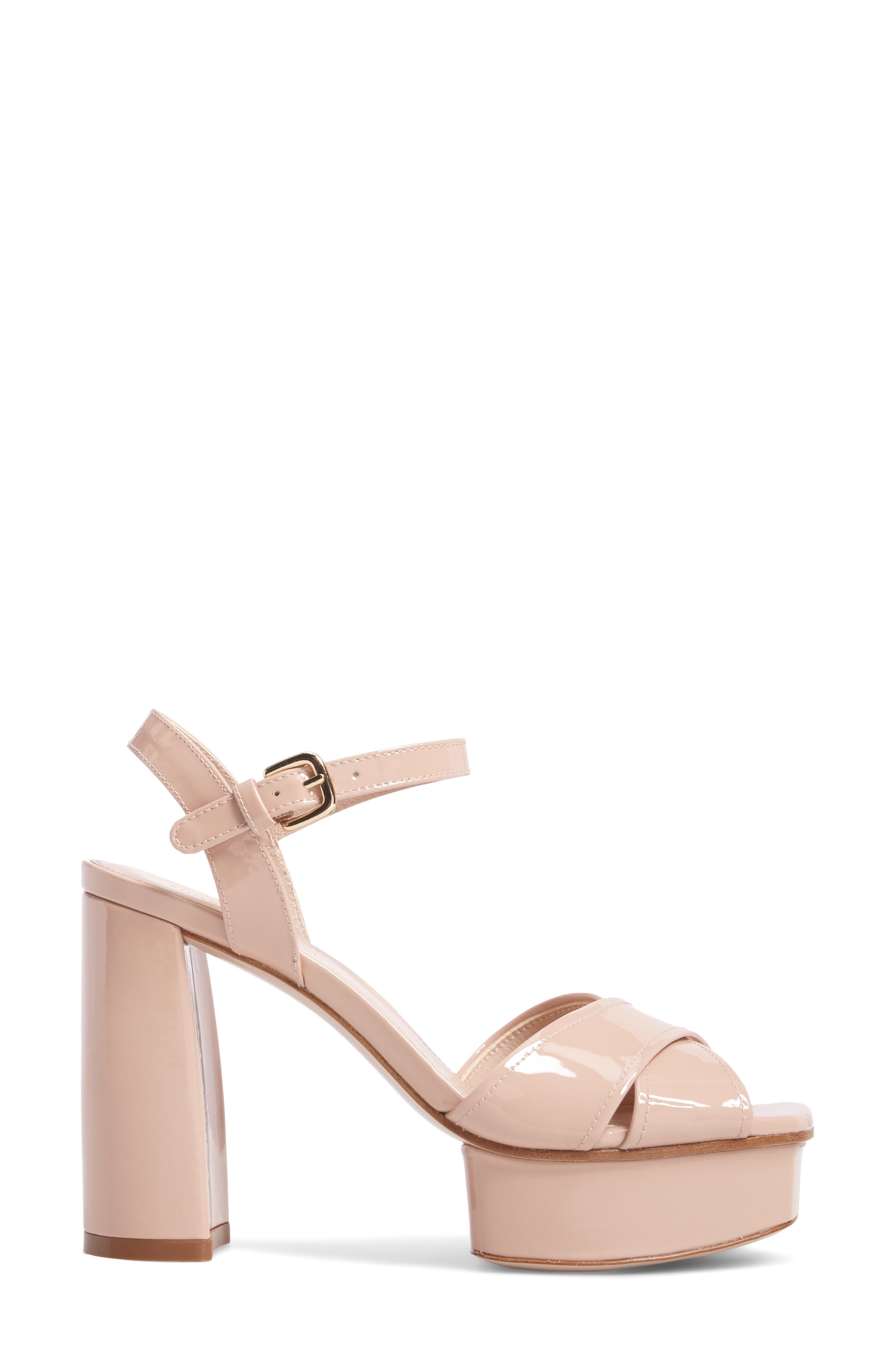 Exposed Platform Sandal,                             Alternate thumbnail 13, color,