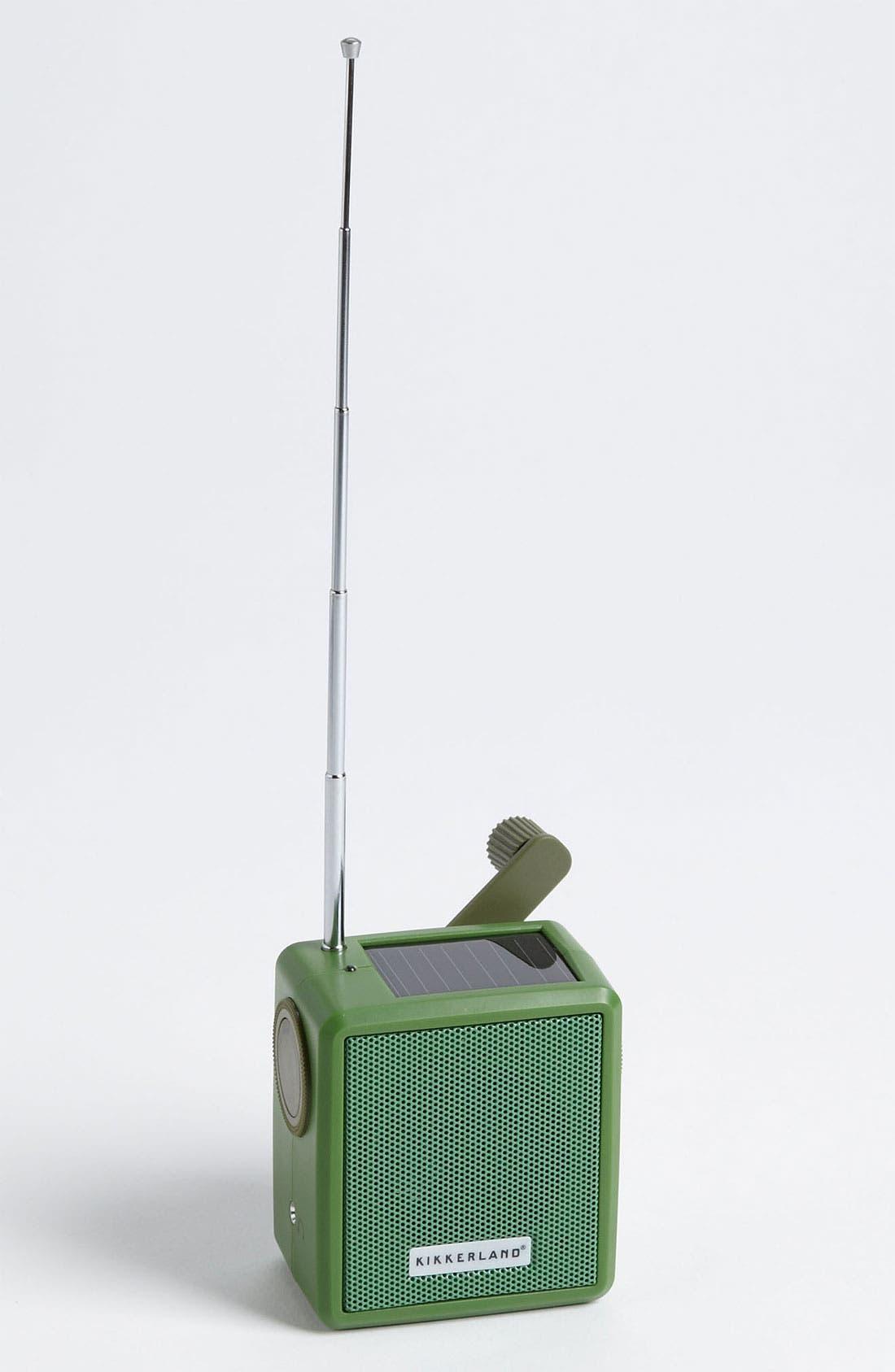 Solar Crank Radio, Main, color, 300