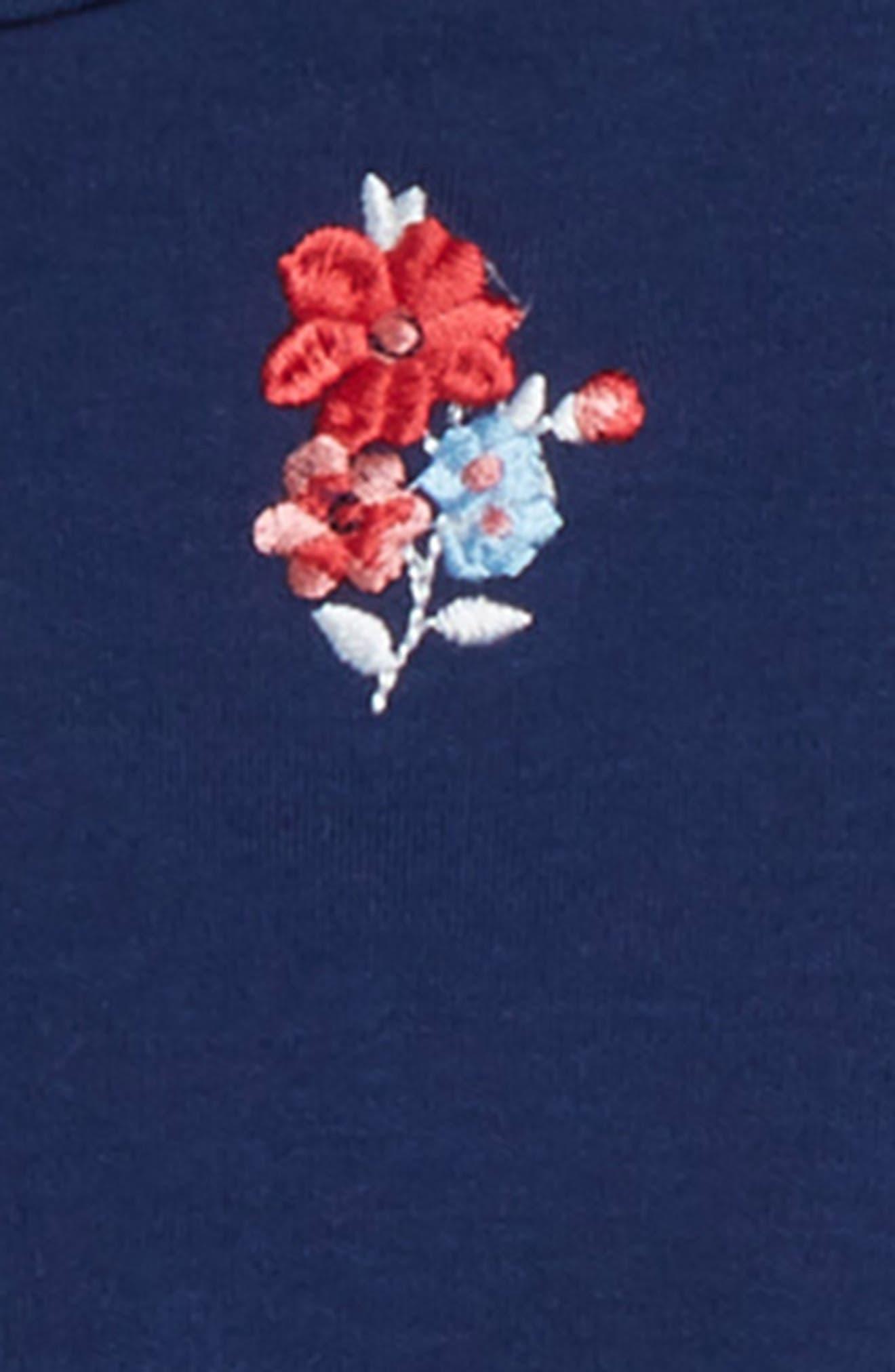 LITTLE ME,                             Floral Dress Set,                             Alternate thumbnail 2, color,                             FLORAL