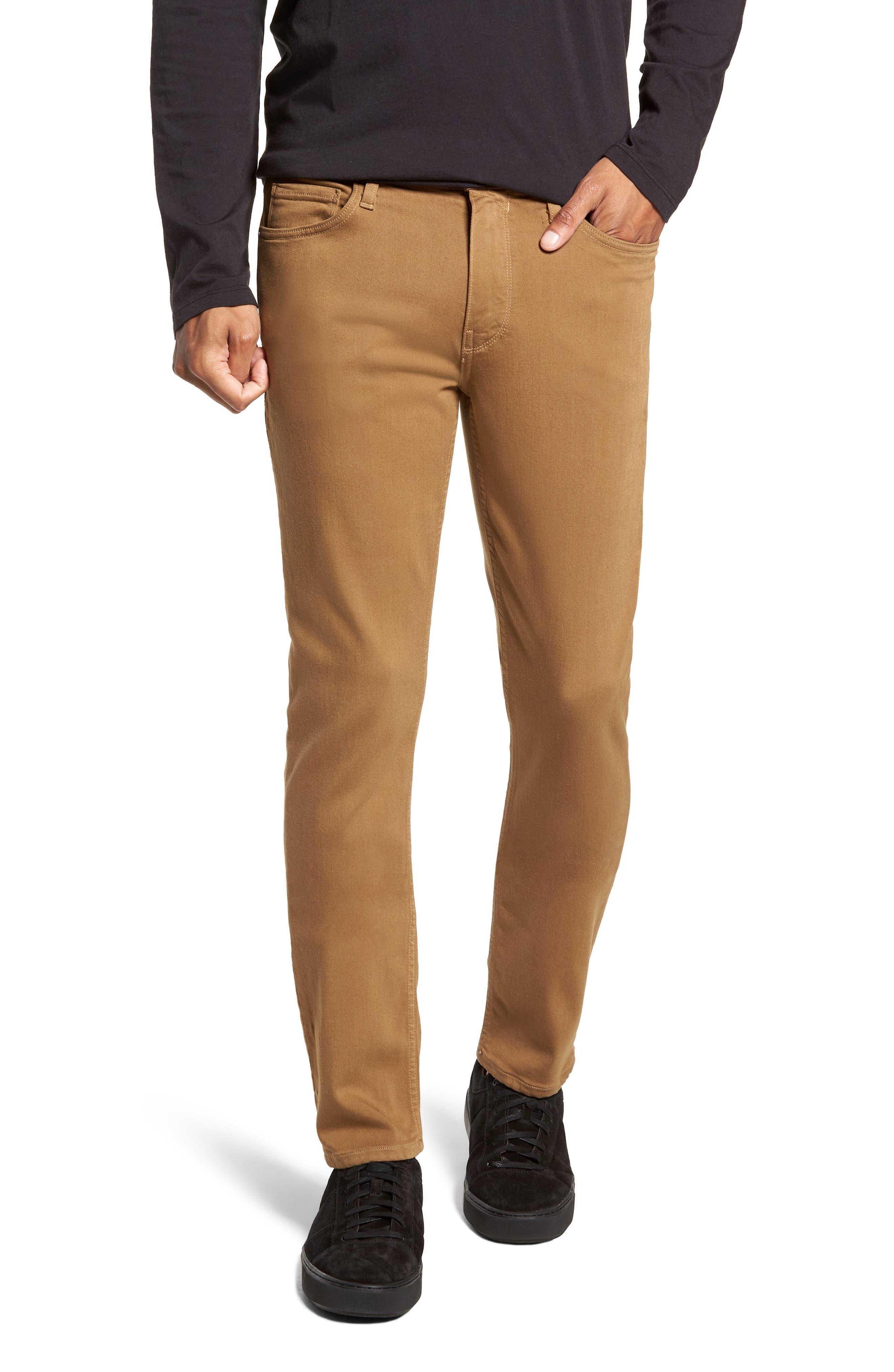 Transcend - Normandie Straight Leg Jeans,                         Main,                         color, LAUREL TAN