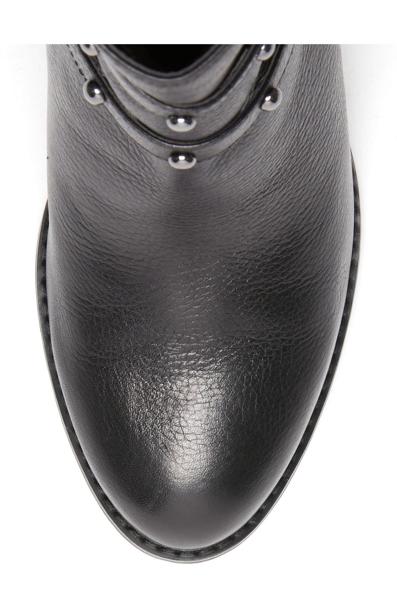 Analise Waterproof Boot,                             Alternate thumbnail 5, color,                             001