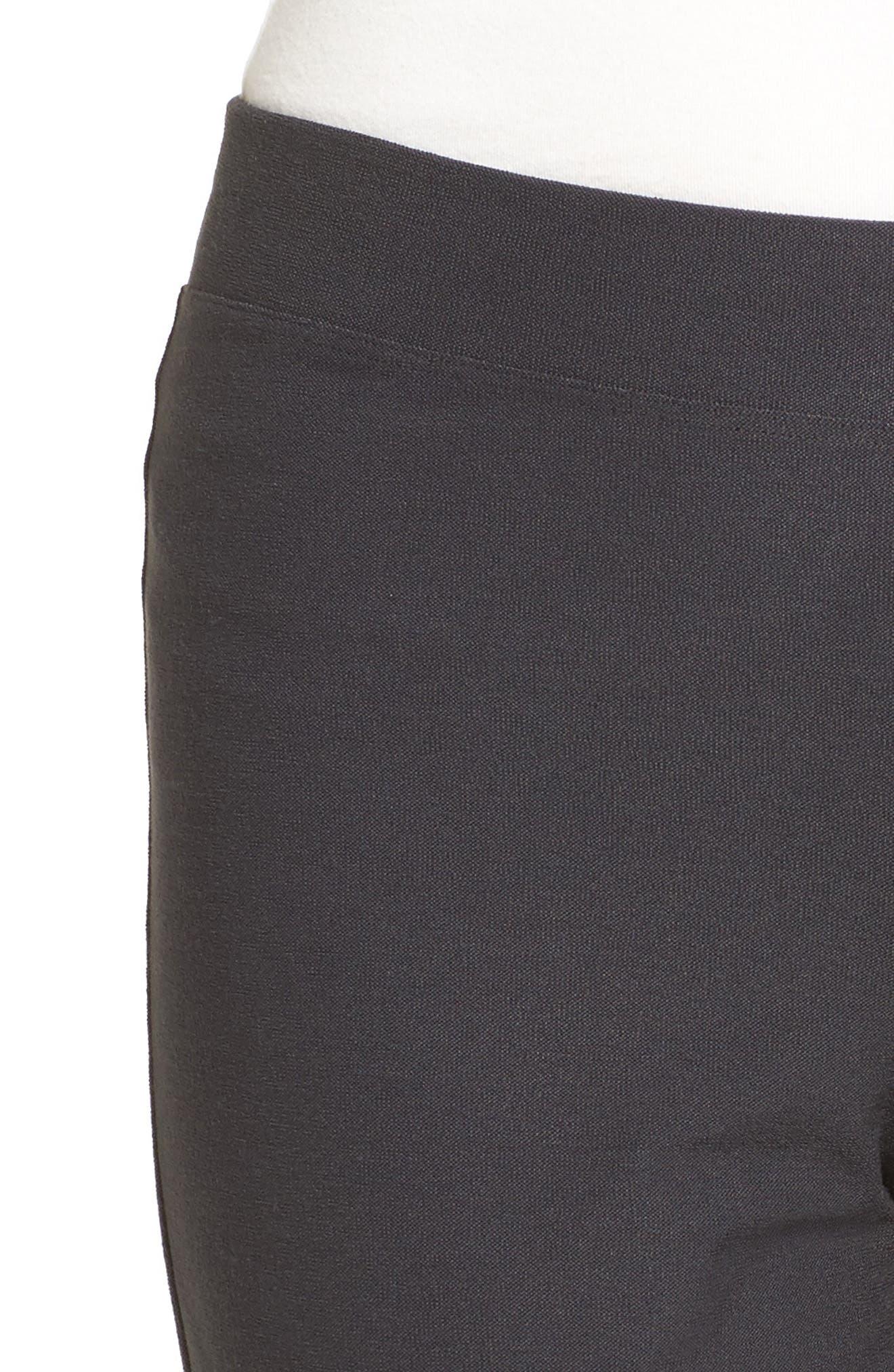 Stretch Crepe Slim Ankle Pants,                             Alternate thumbnail 60, color,