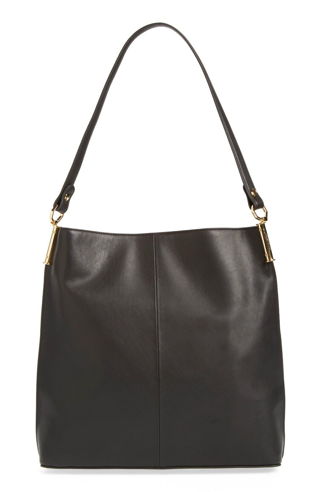 'Large Lucie' Bucket Bag,                             Alternate thumbnail 2, color,                             001
