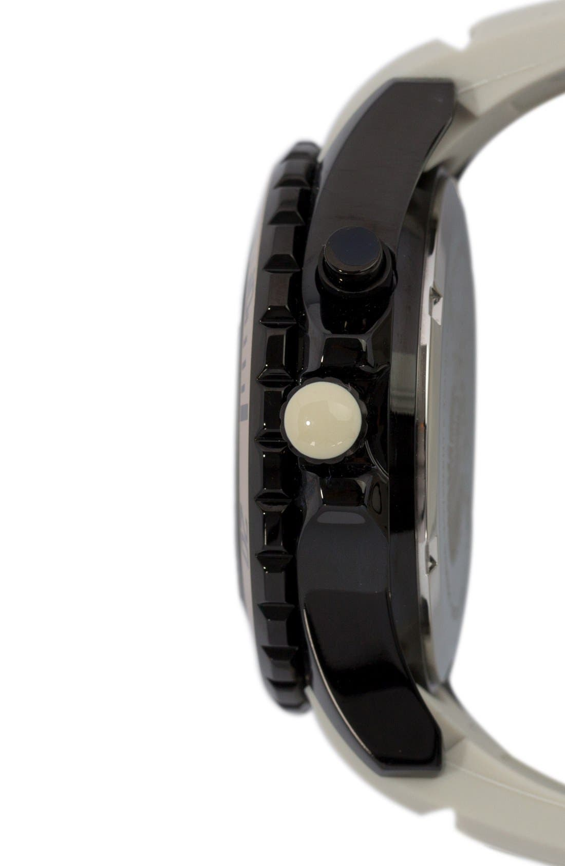 Silicone Strap Watch, 40mm,                             Alternate thumbnail 9, color,
