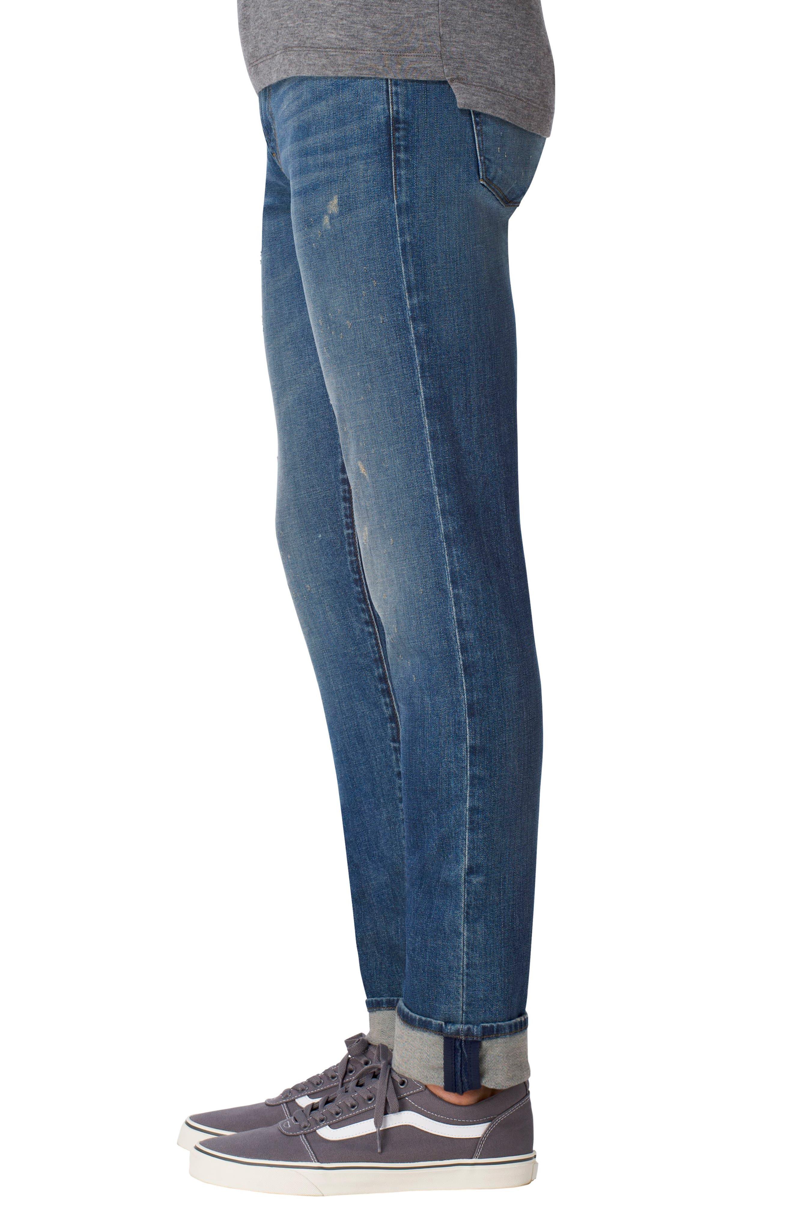 Tyler Slim Fit Jeans,                             Alternate thumbnail 3, color,                             400