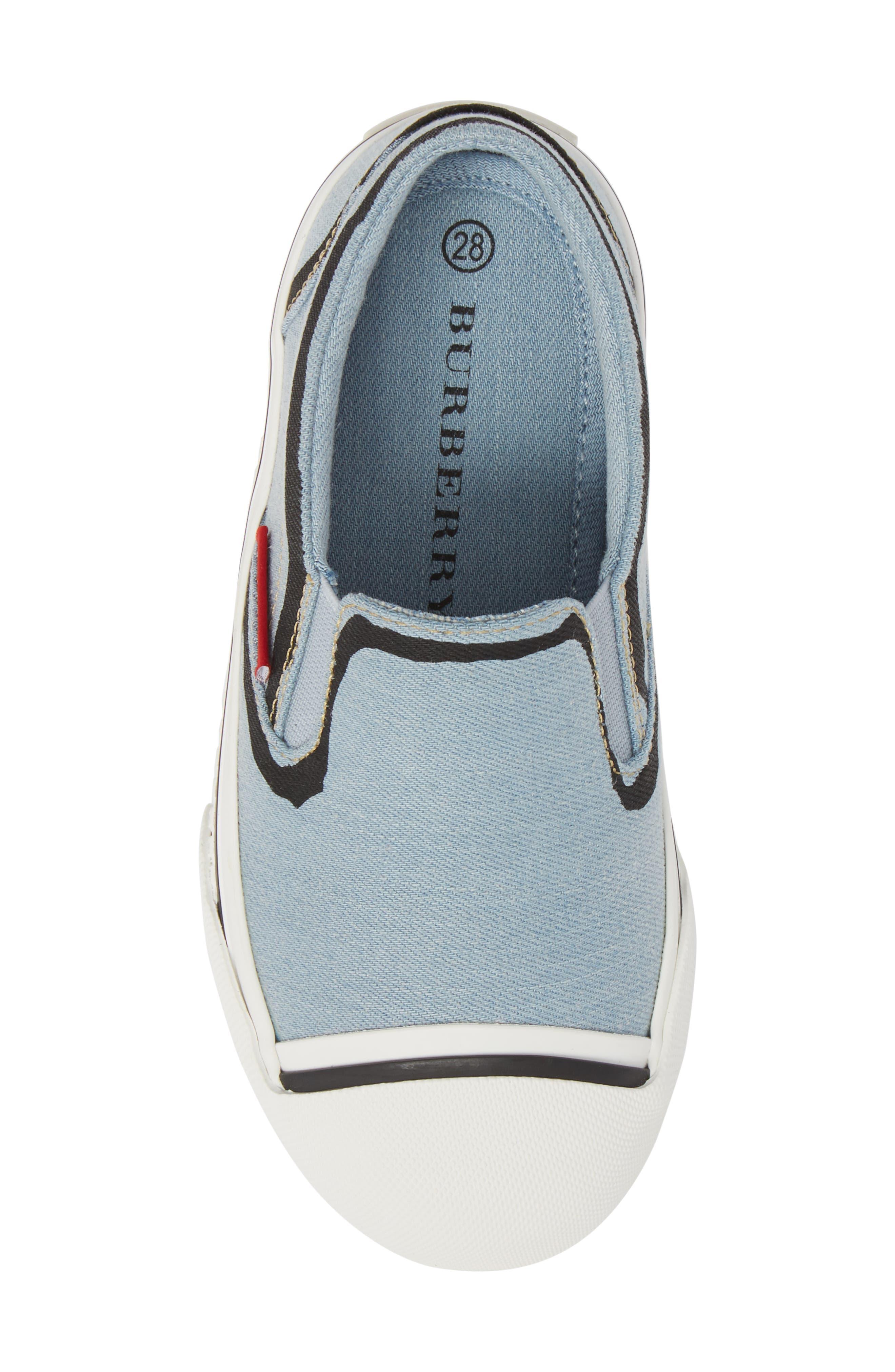 Lipton Slip-On Sneaker,                             Alternate thumbnail 5, color,                             LIGHT BLUE