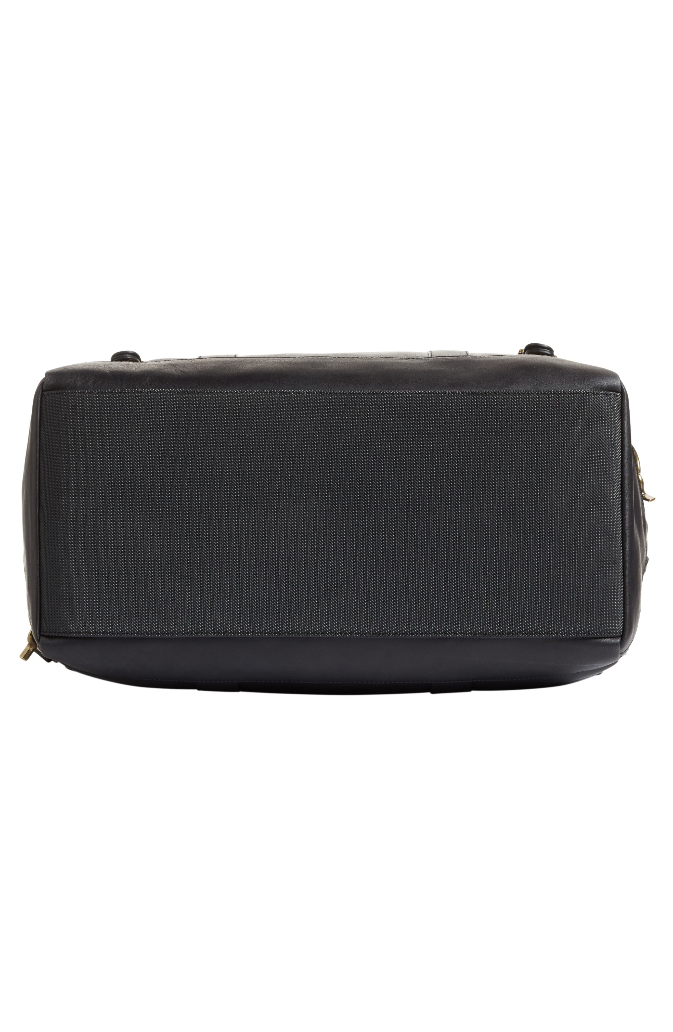 Leather Duffel Bag,                             Alternate thumbnail 11, color,