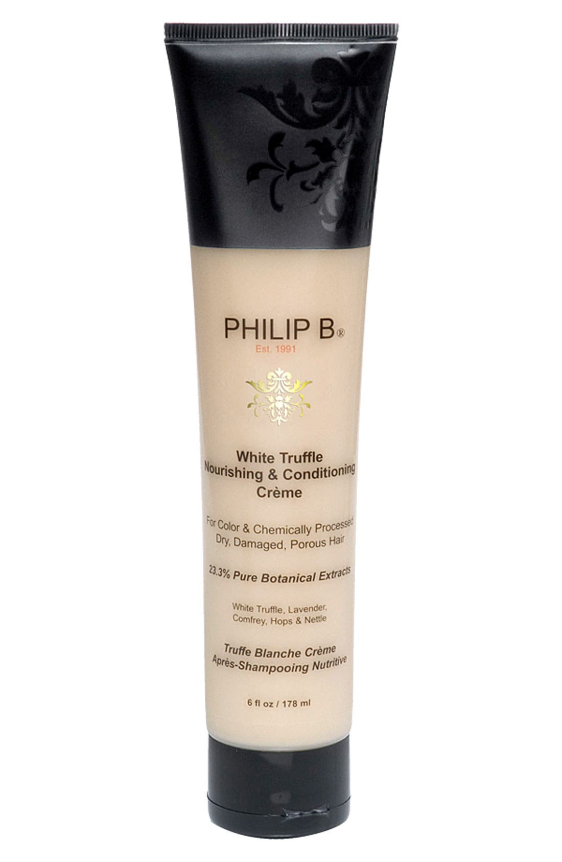 SPACE.NK.apothecary PHILIP B<sup>®</sup> White Truffle Nourishing & Conditioning Crème,                             Main thumbnail 1, color,                             NO COLOR