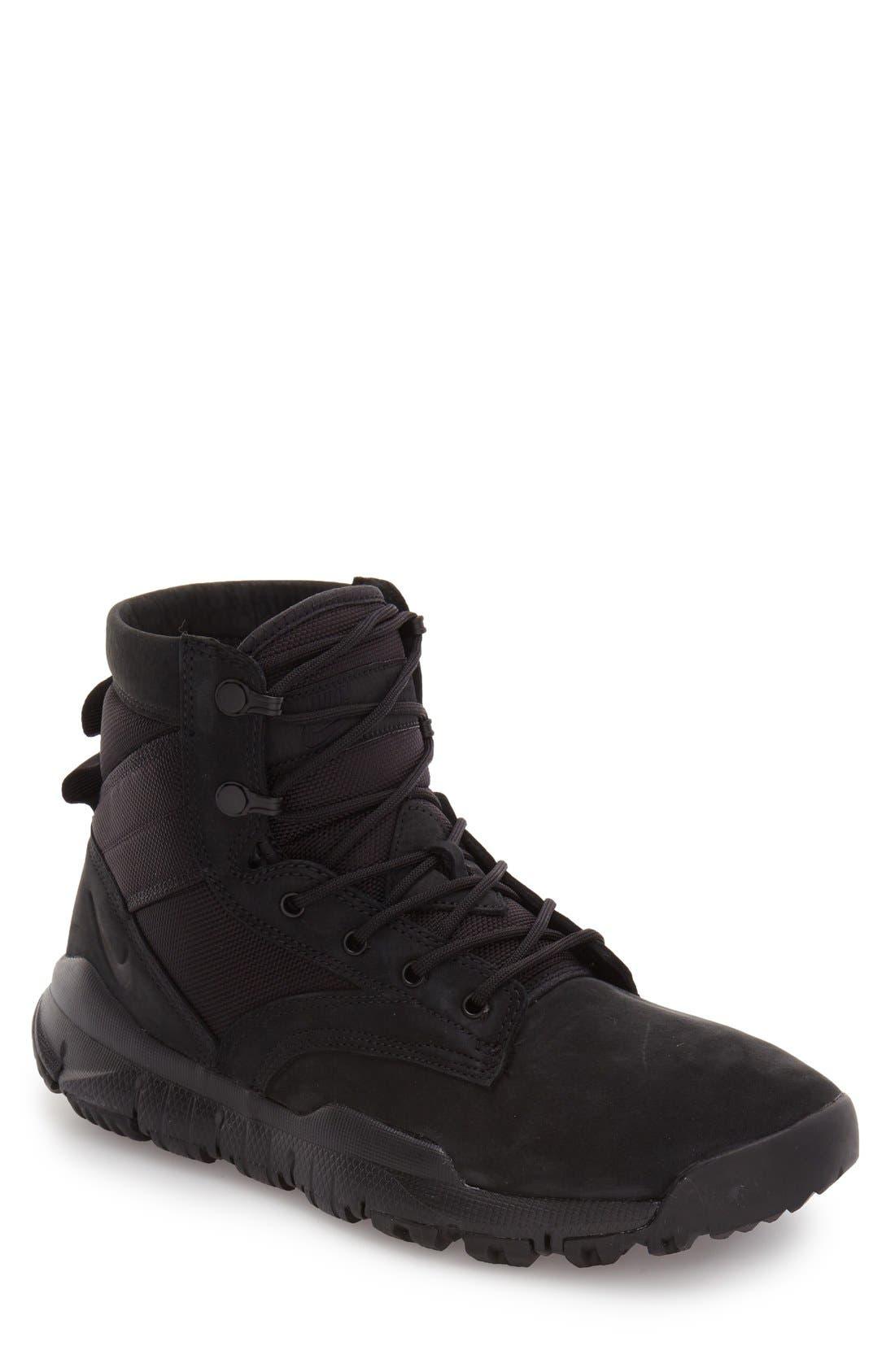'SFB' Plain Toe Boot,                         Main,                         color, 001