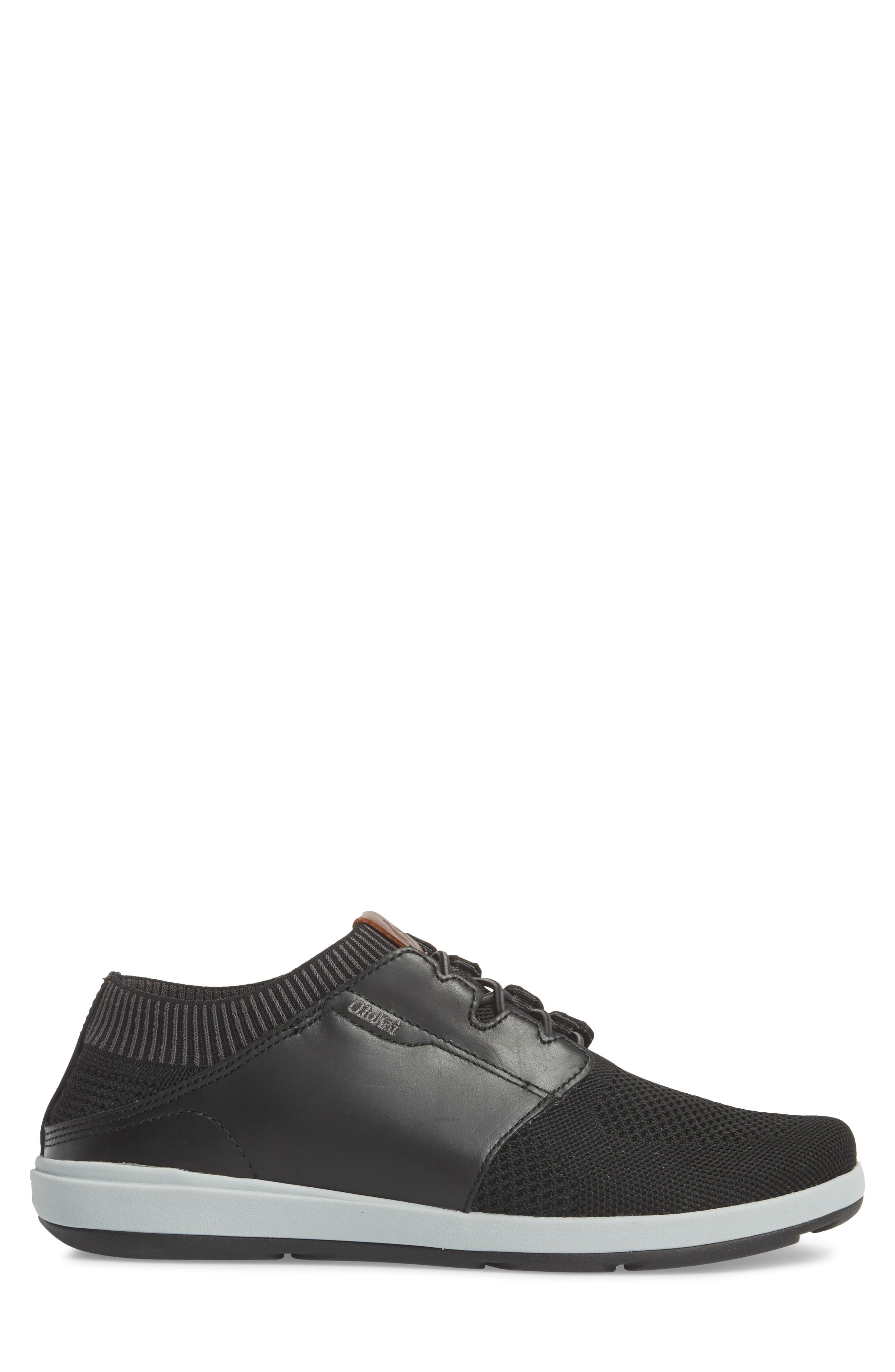 Makia Ulana Sneaker,                             Alternate thumbnail 3, color,                             BLACK/ BLACK