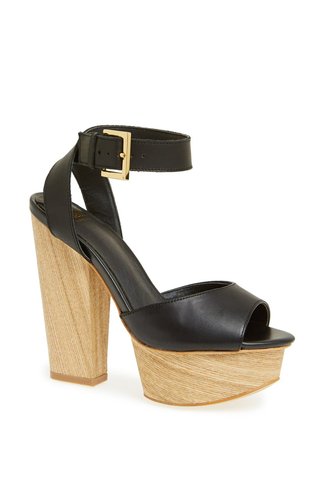 'Aaelle' Platform Sandal, Main, color, 002