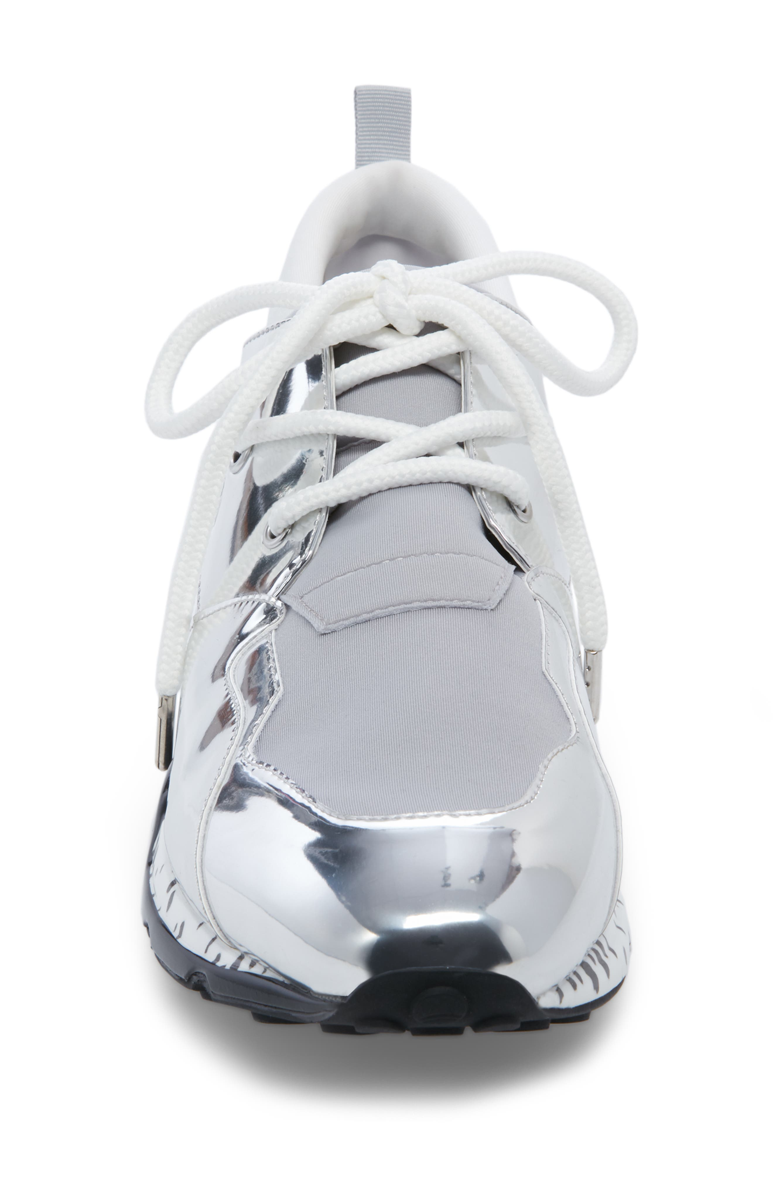 Ridge Sneaker,                             Alternate thumbnail 4, color,                             SILVER MULTI