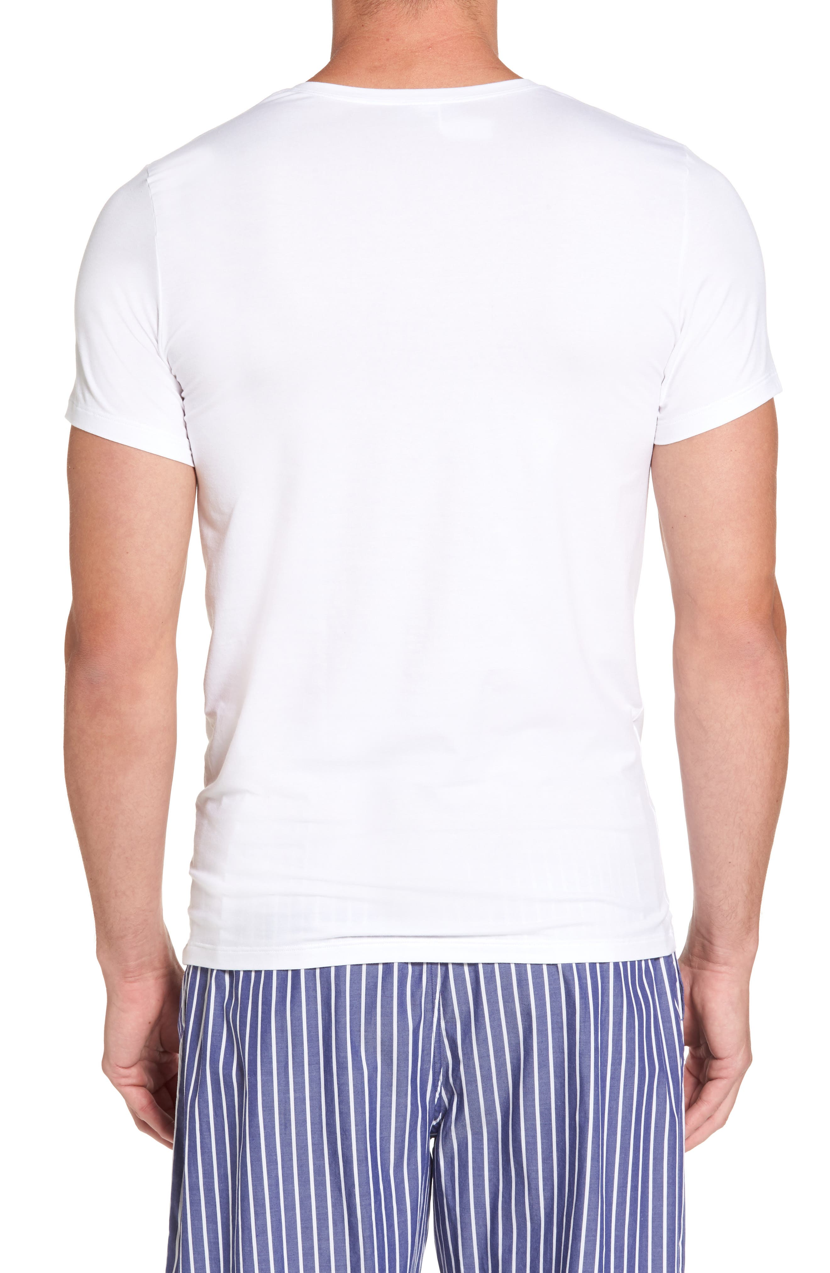 Cotton Superior Crewneck T-Shirt,                             Alternate thumbnail 2, color,