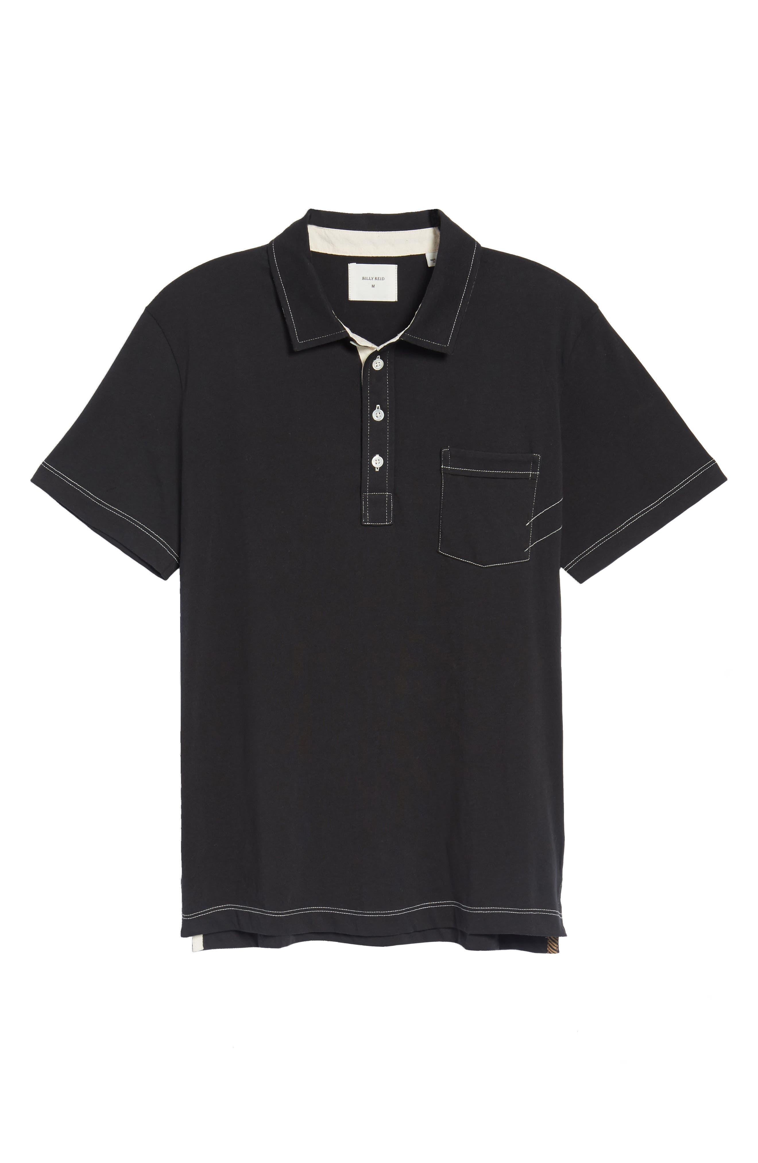 Pensacola Slim Fit Polo,                             Alternate thumbnail 4, color,                             001