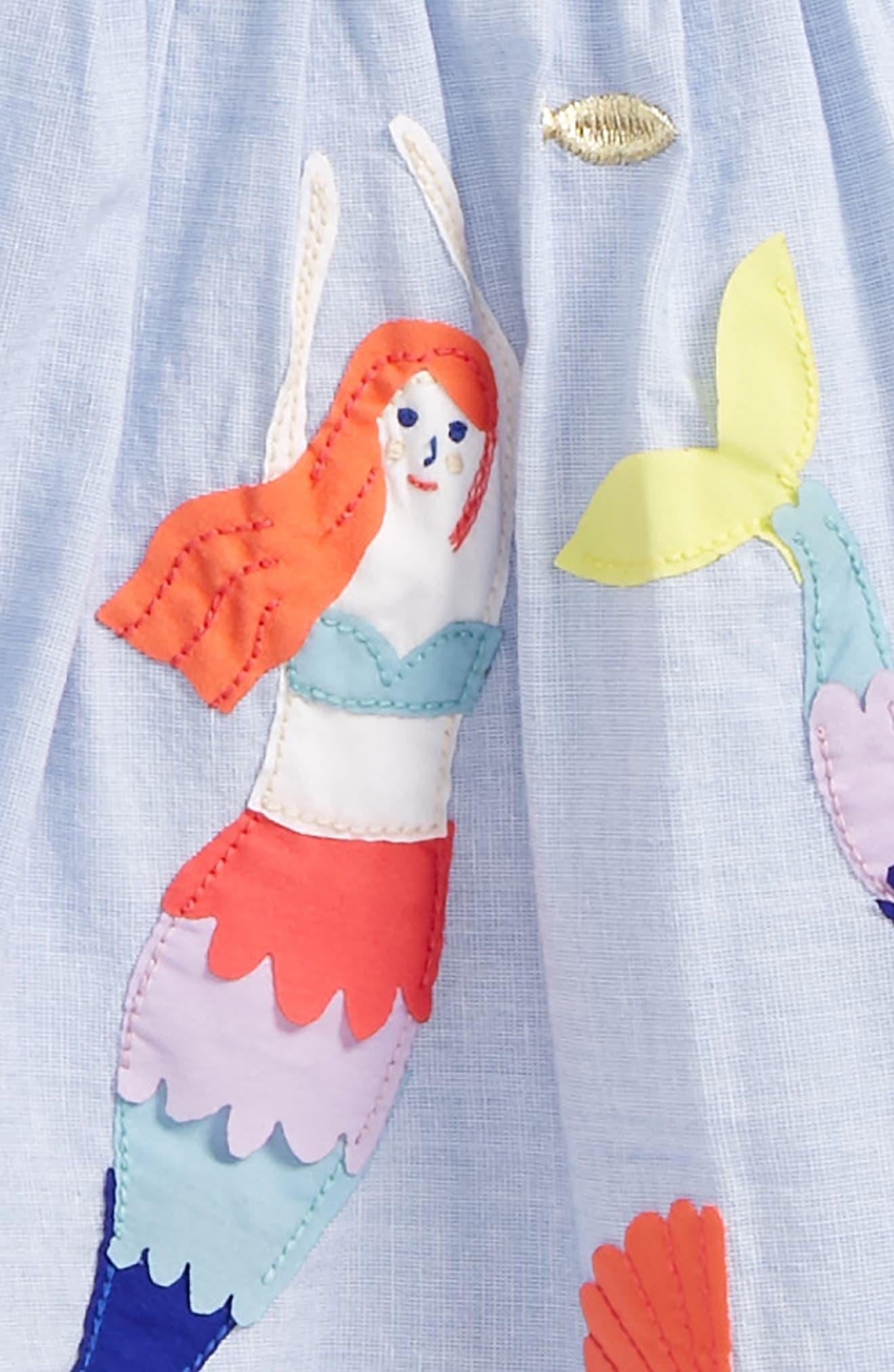 Colorful Appliqué Skirt,                             Alternate thumbnail 3, color,