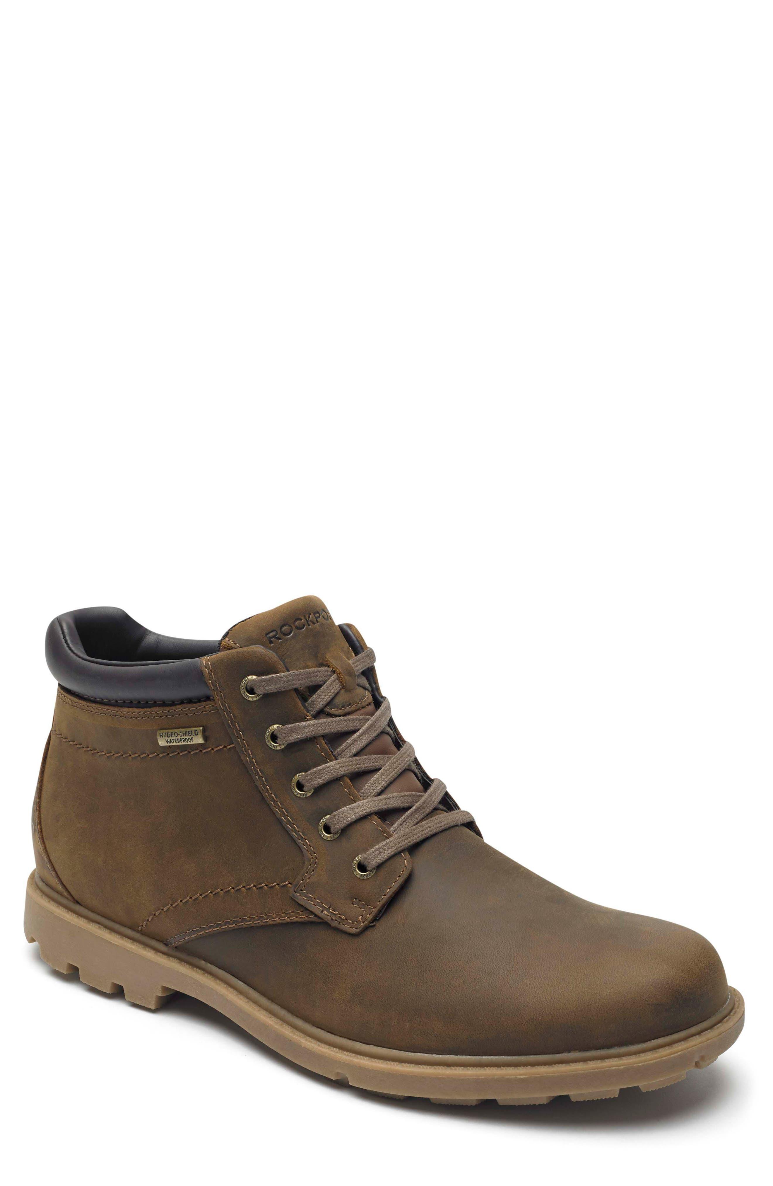 Rockport Boston Waterproof Boot, Brown