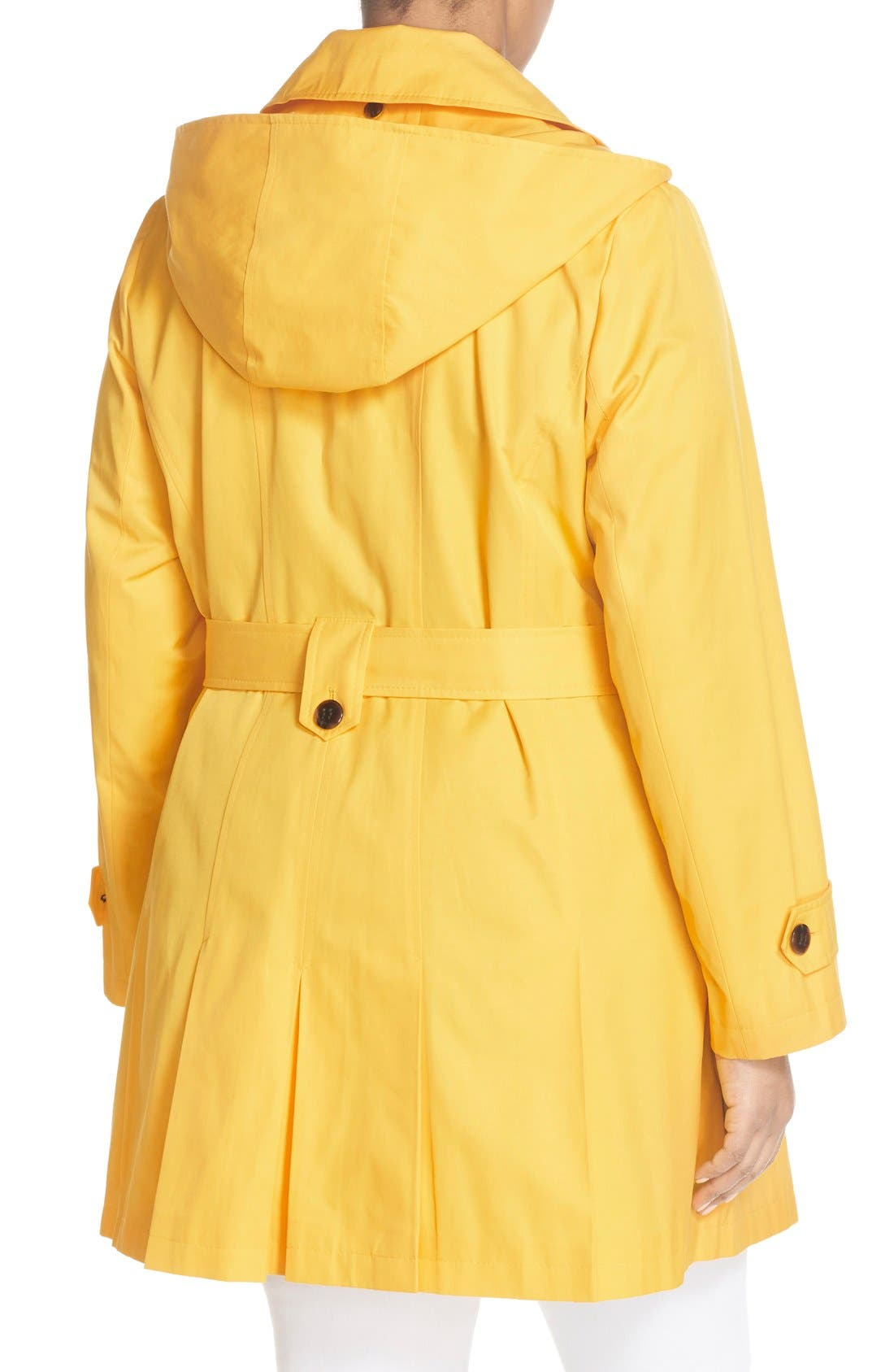 'Scarpa' Single Breasted Trench Coat,                             Alternate thumbnail 18, color,