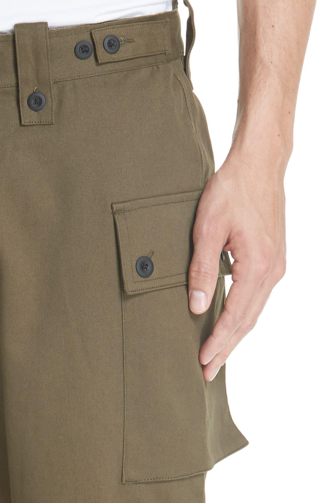 Storm Utility Cargo Pants,                             Alternate thumbnail 4, color,                             OLIVE
