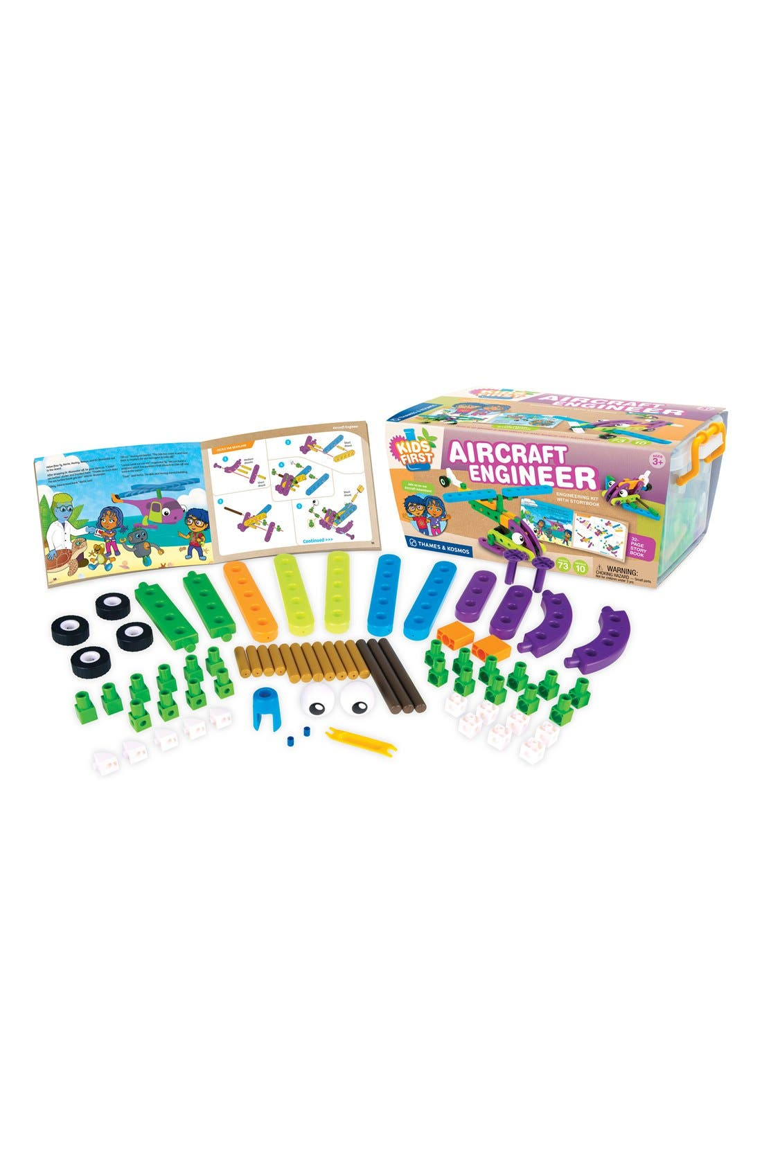 'Kid First - Aircraft Engineer' Kit,                             Alternate thumbnail 3, color,                             BLUE