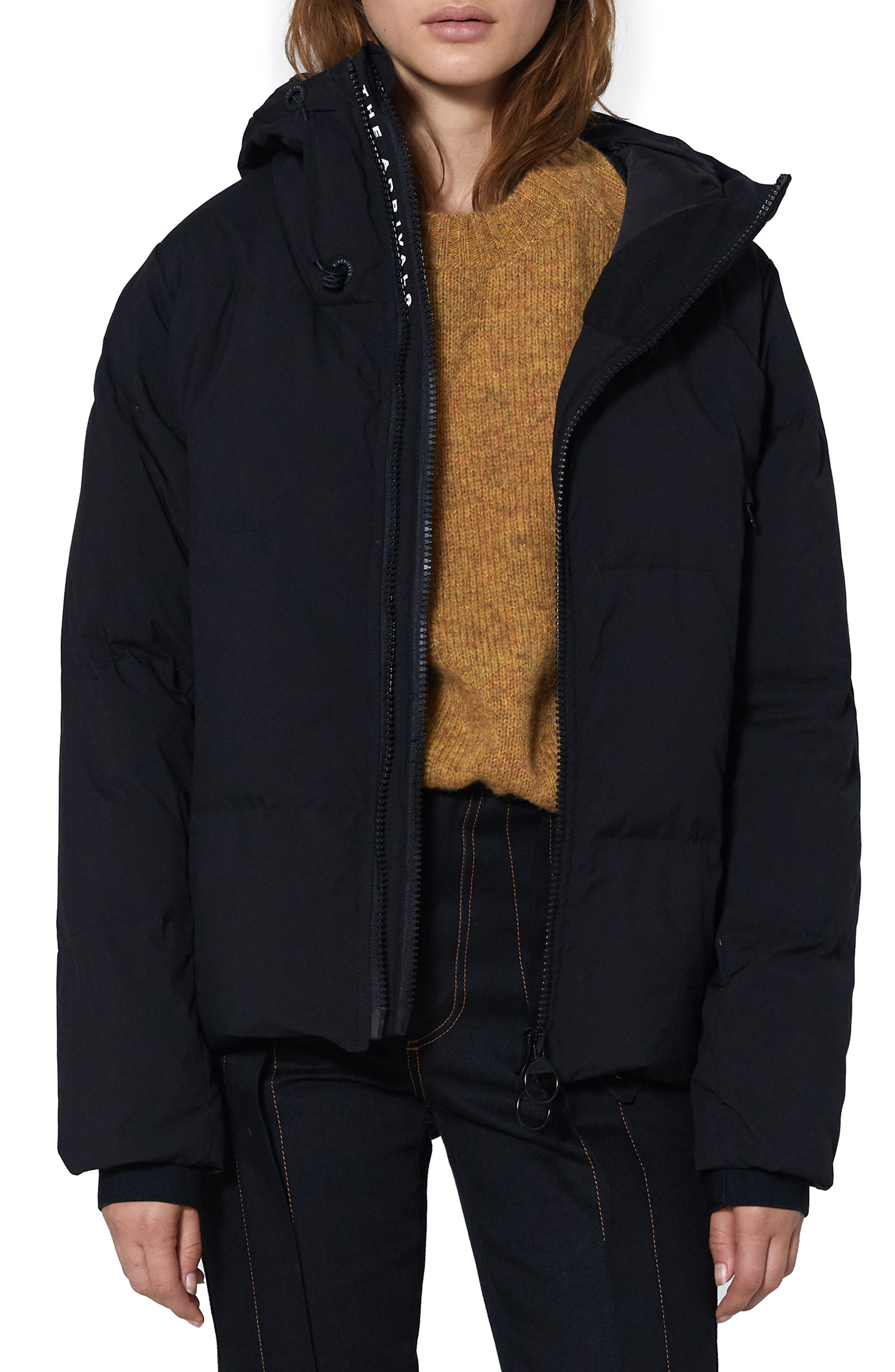 THE ARRIVALS Performance Down Puffer Jacket, Main, color, 001