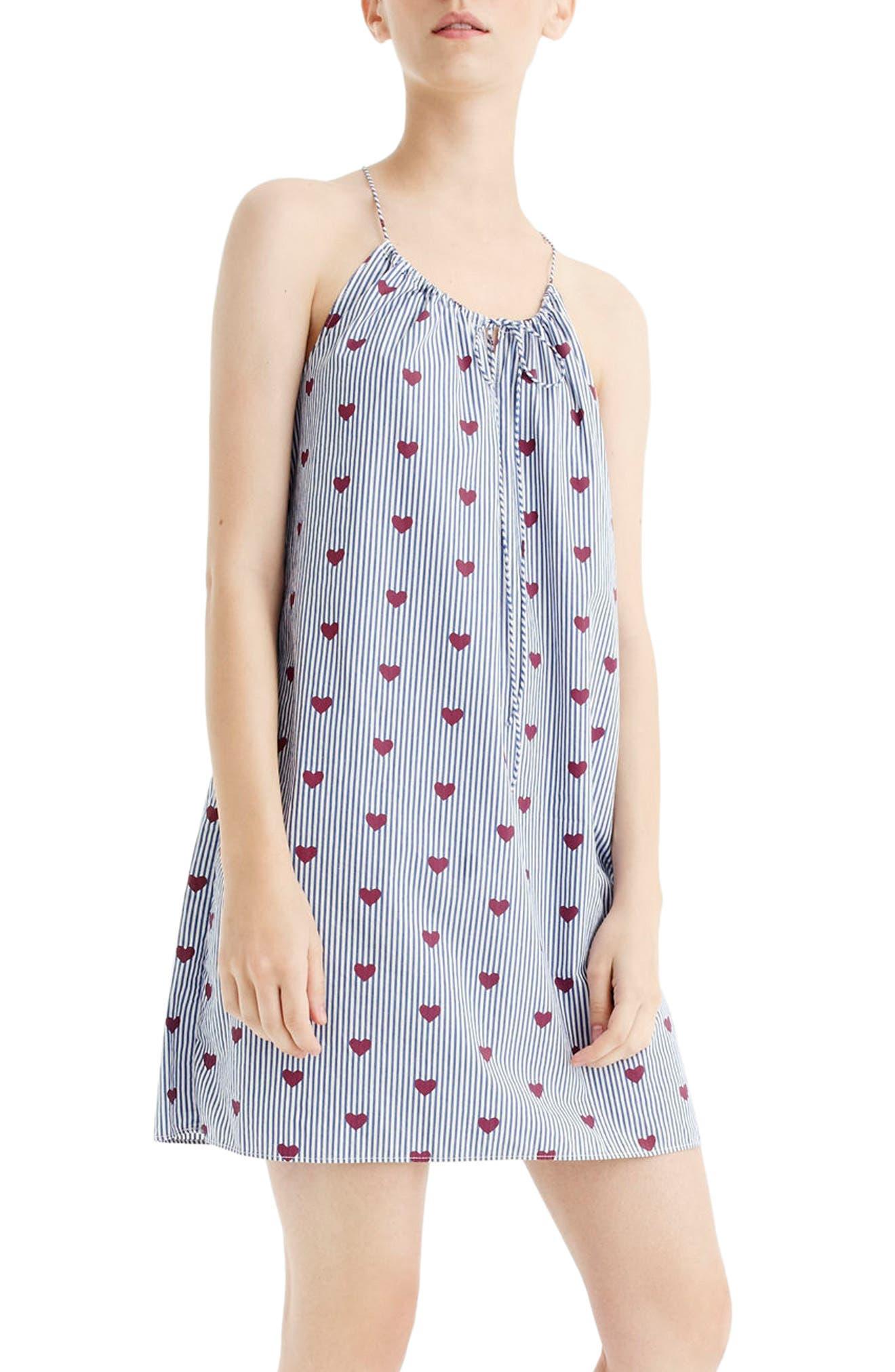 Hearts Nightgown,                             Main thumbnail 1, color,                             400